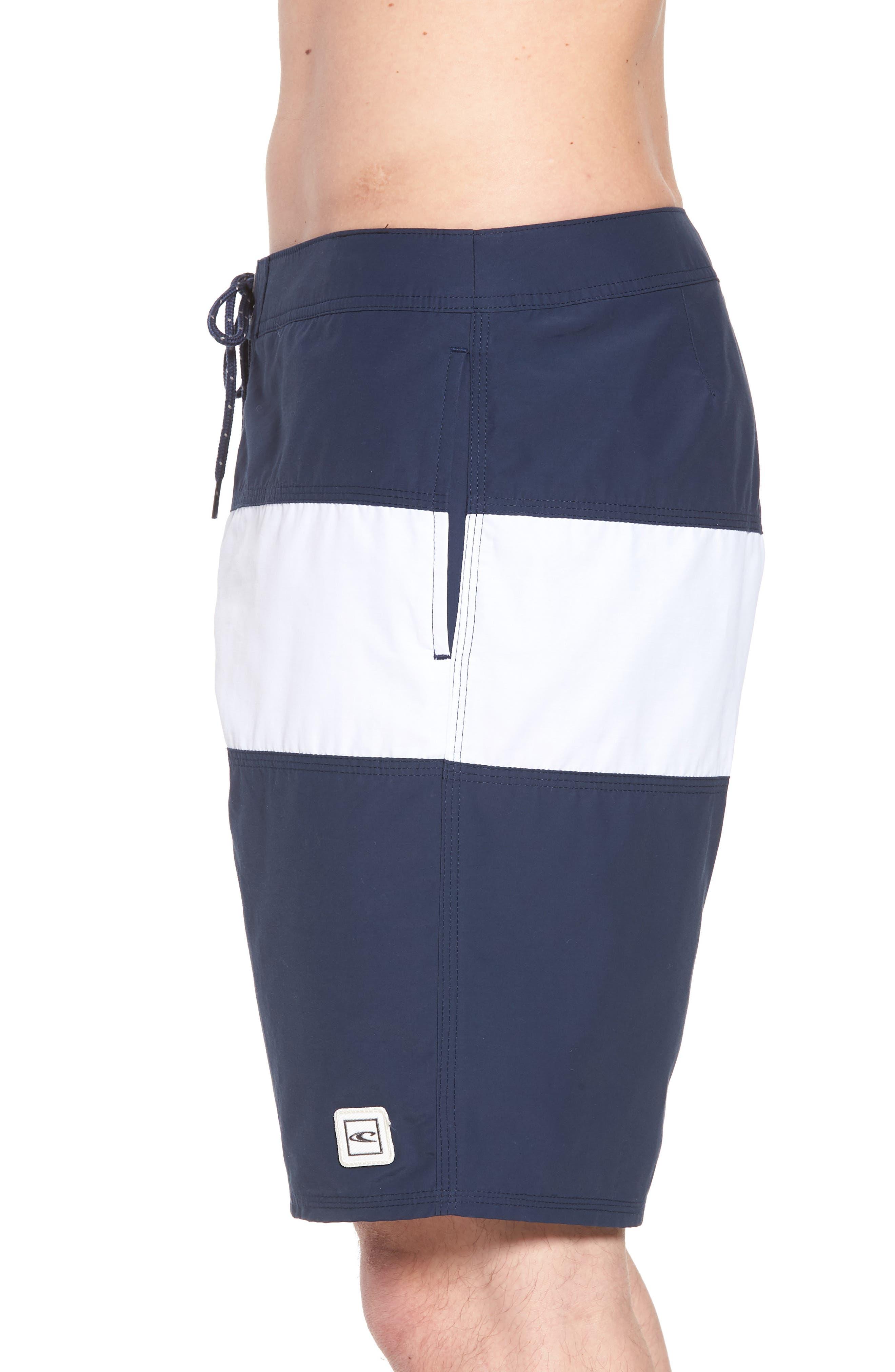 Heritage Board Shorts,                             Alternate thumbnail 3, color,                             Navy