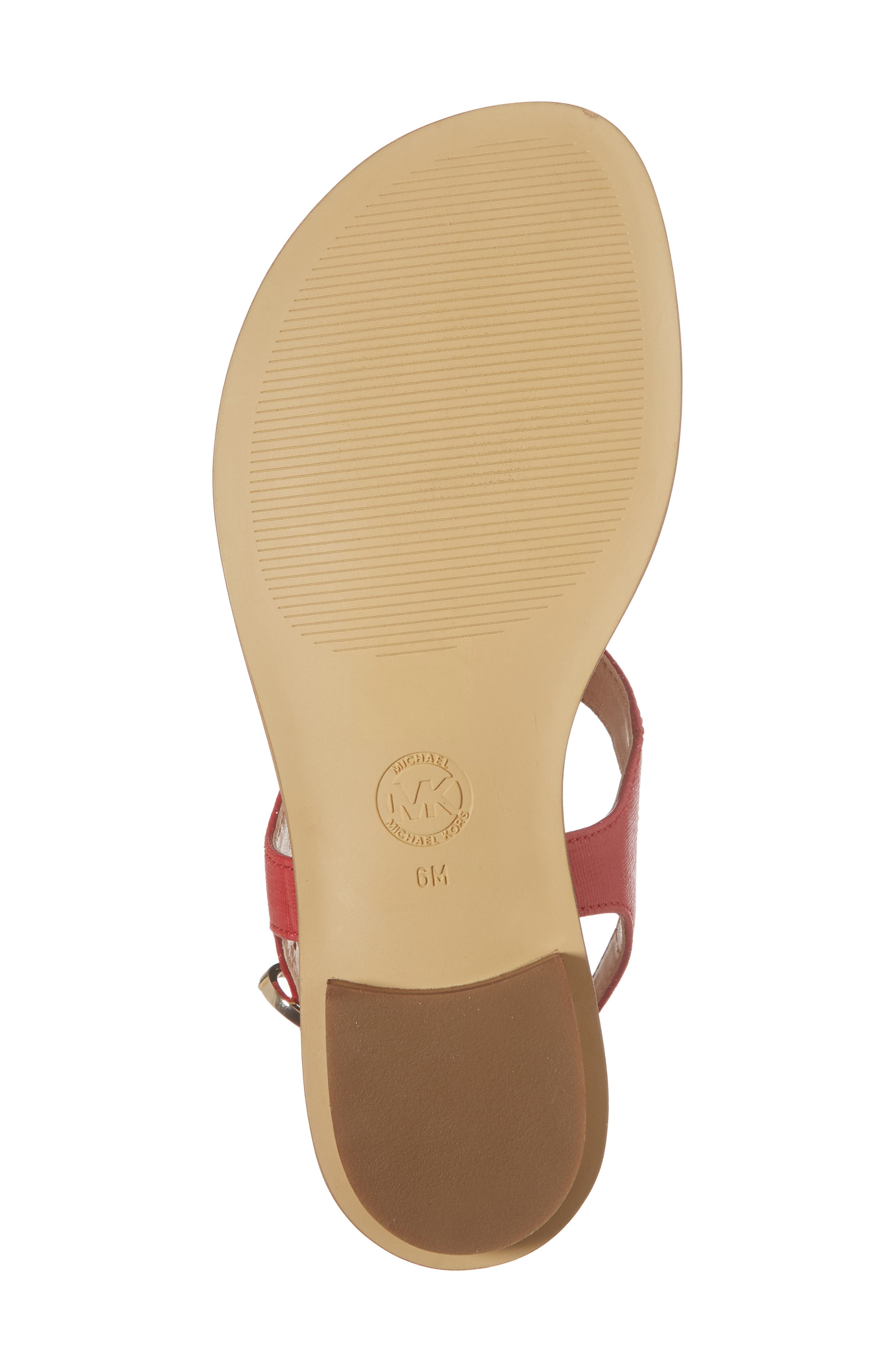 Alice Sandal,                             Alternate thumbnail 6, color,                             Bright Red