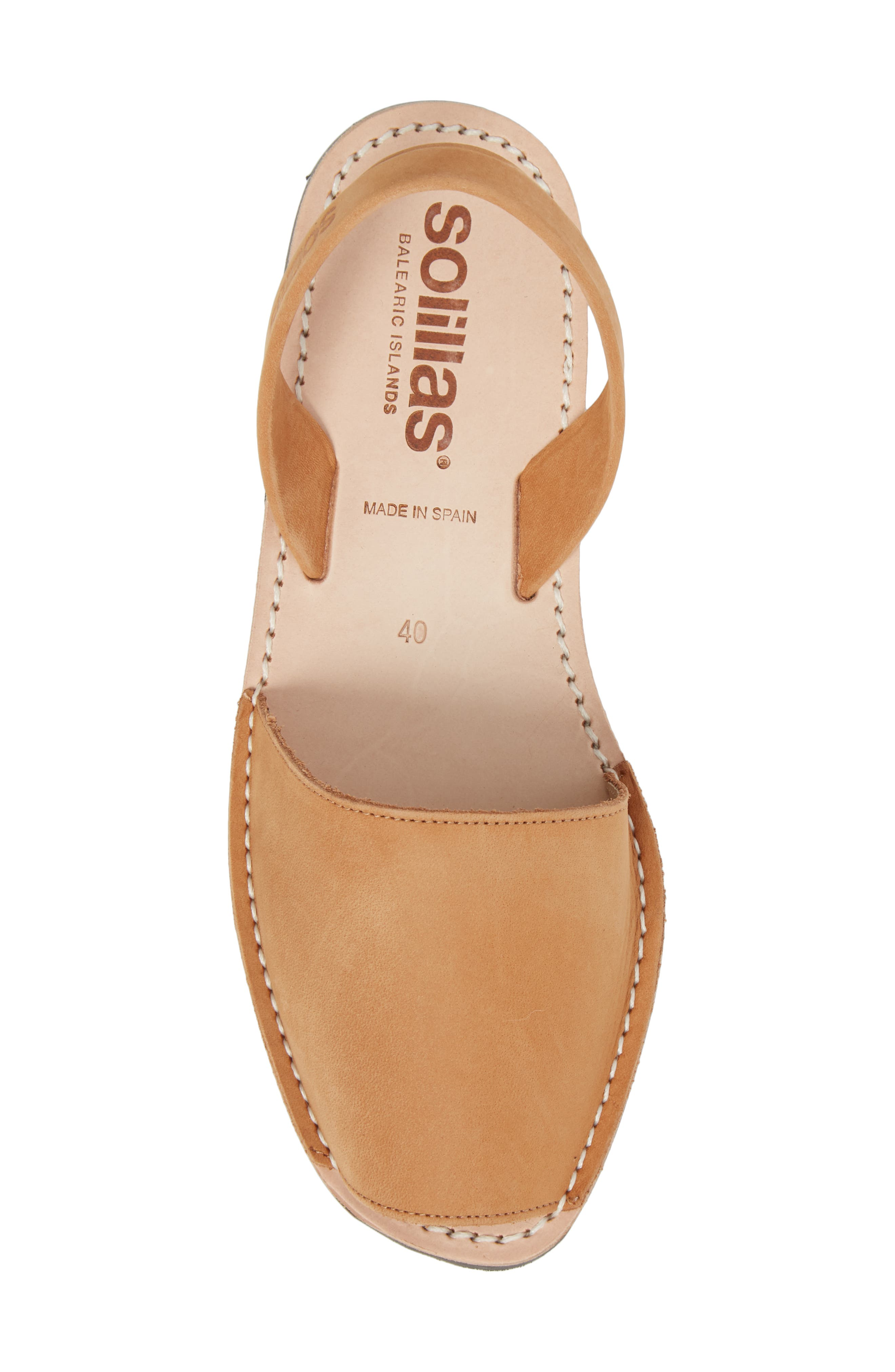 Flat Sandal,                             Alternate thumbnail 5, color,                             Tan