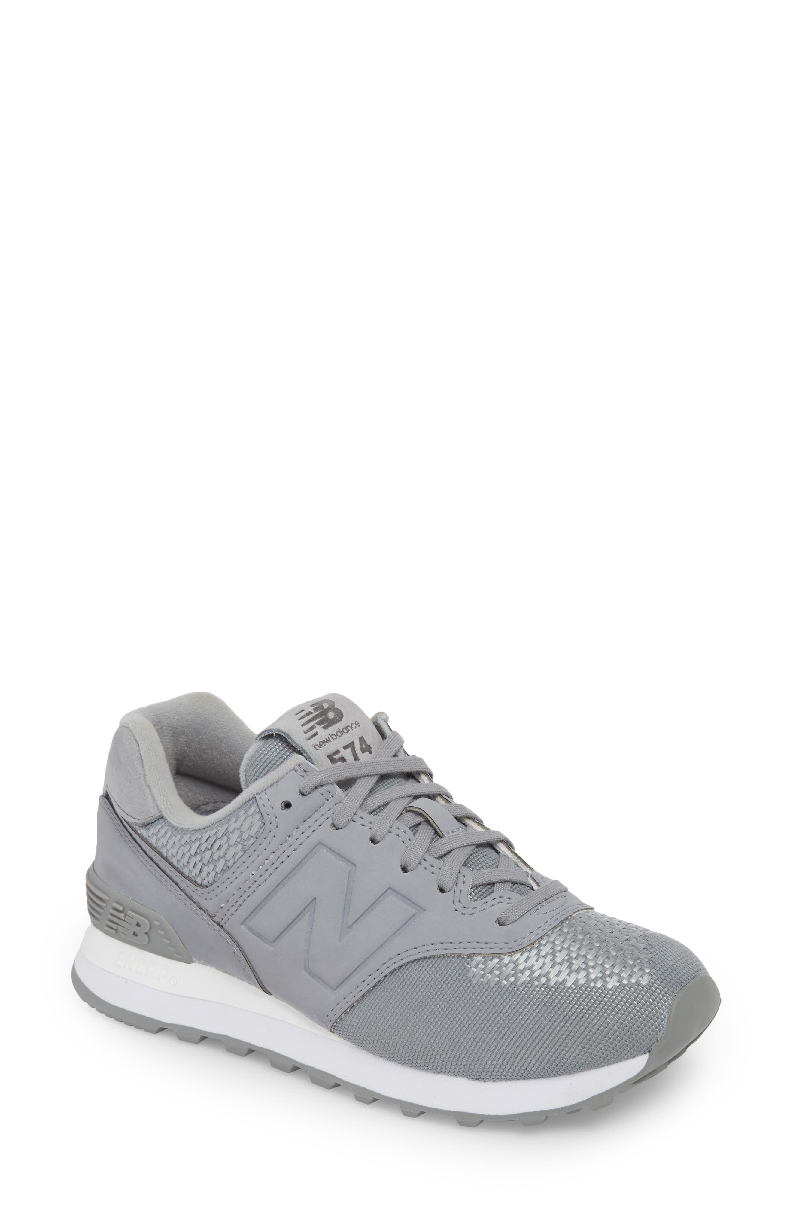 New Balance 574 Tech Raffia Sneaker (Women)