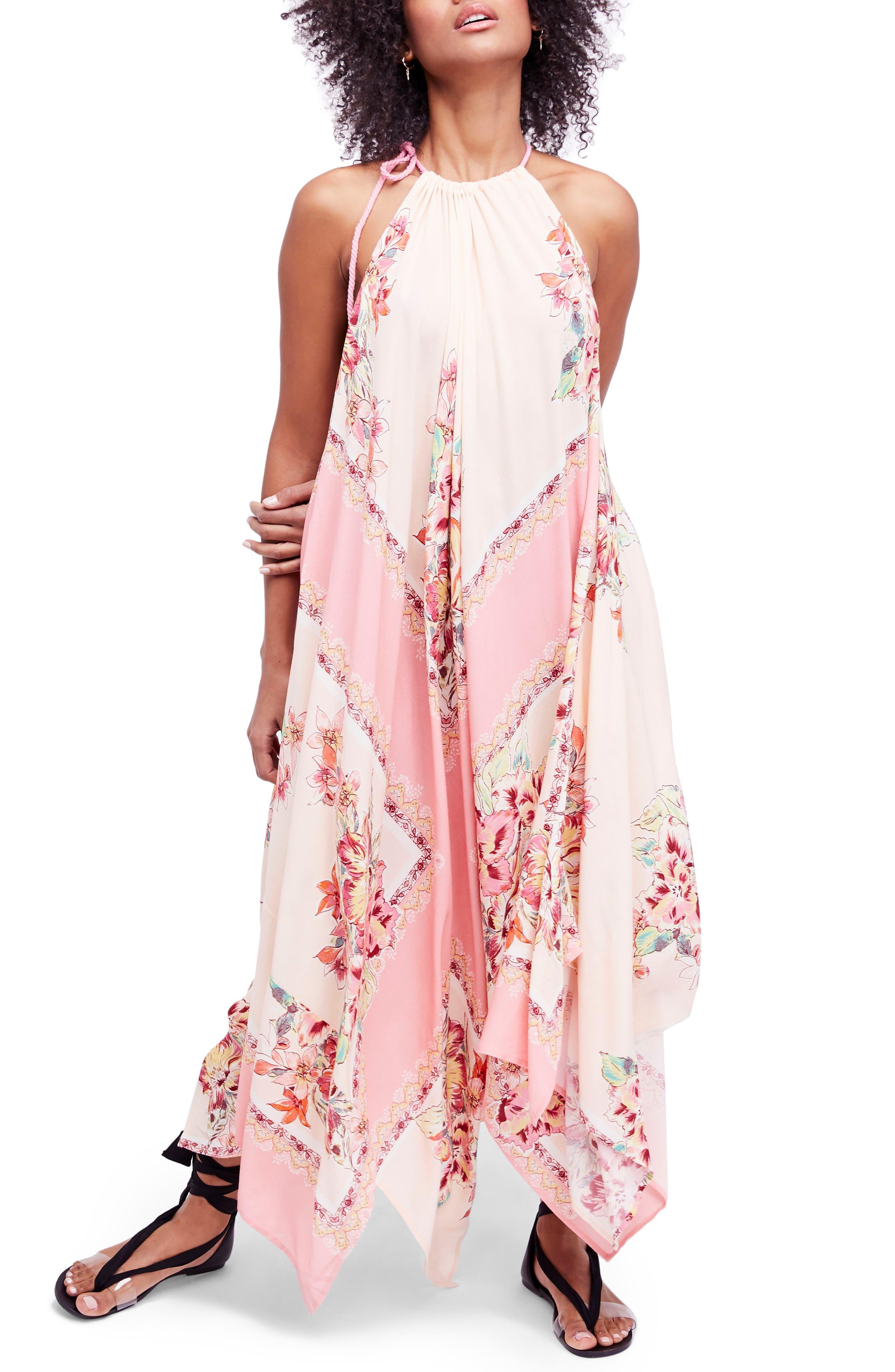 Mind's Eye Maxi Dress,                         Main,                         color, Pink
