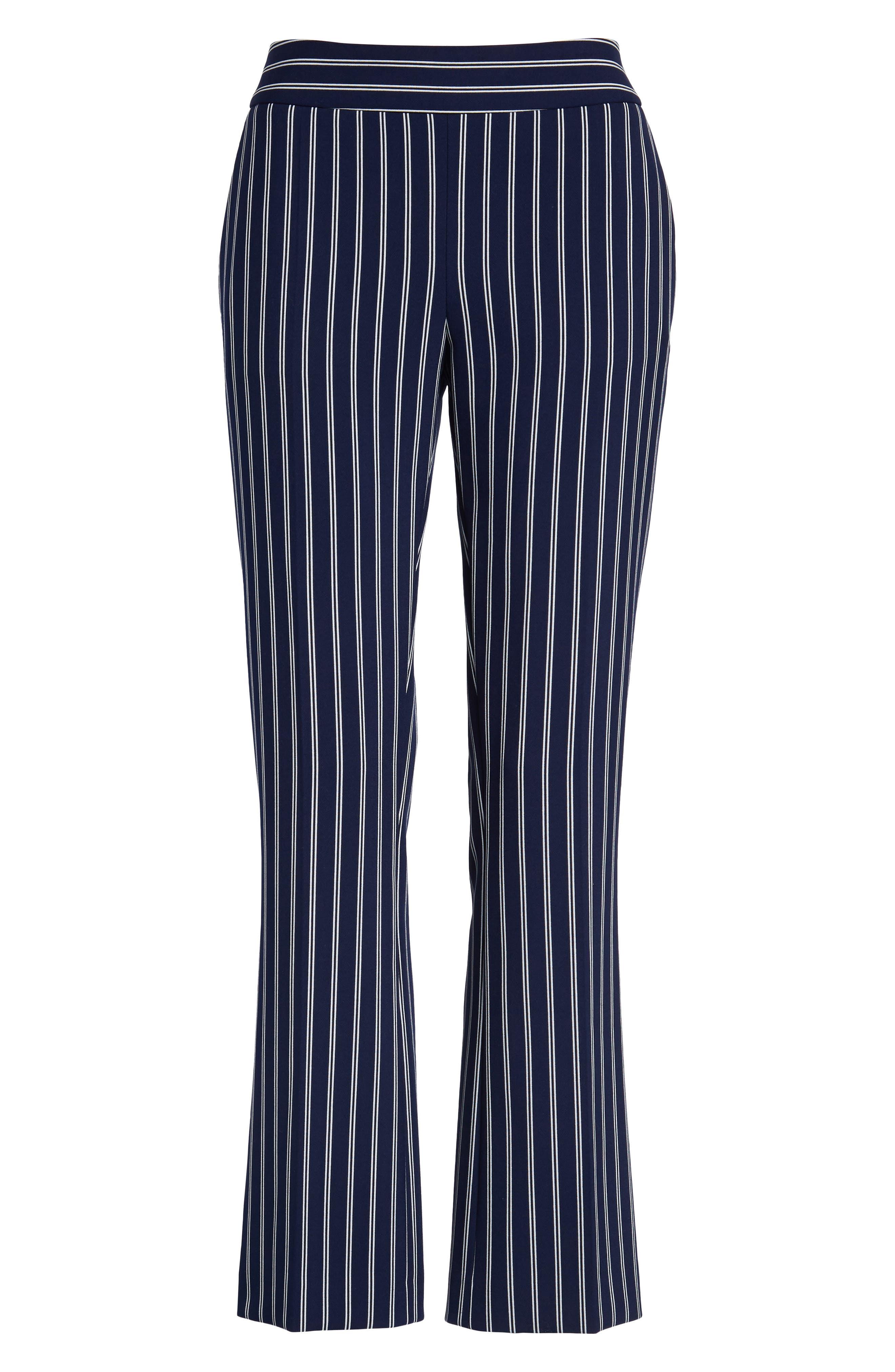 Tebella Stripe Pants,                             Alternate thumbnail 7, color,                             Blue Fantasy