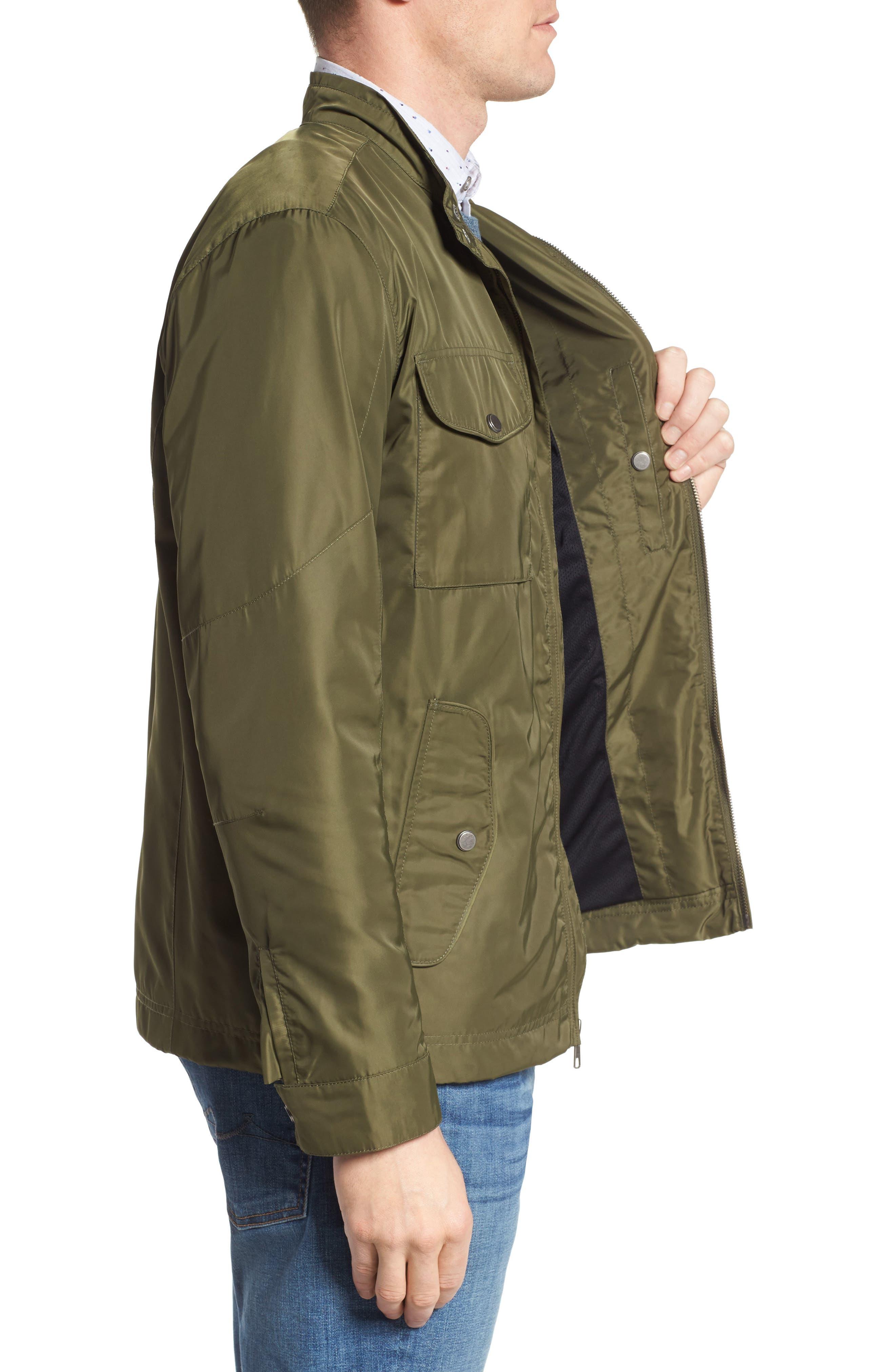 Utility Jacket,                             Alternate thumbnail 3, color,                             Green Bronze