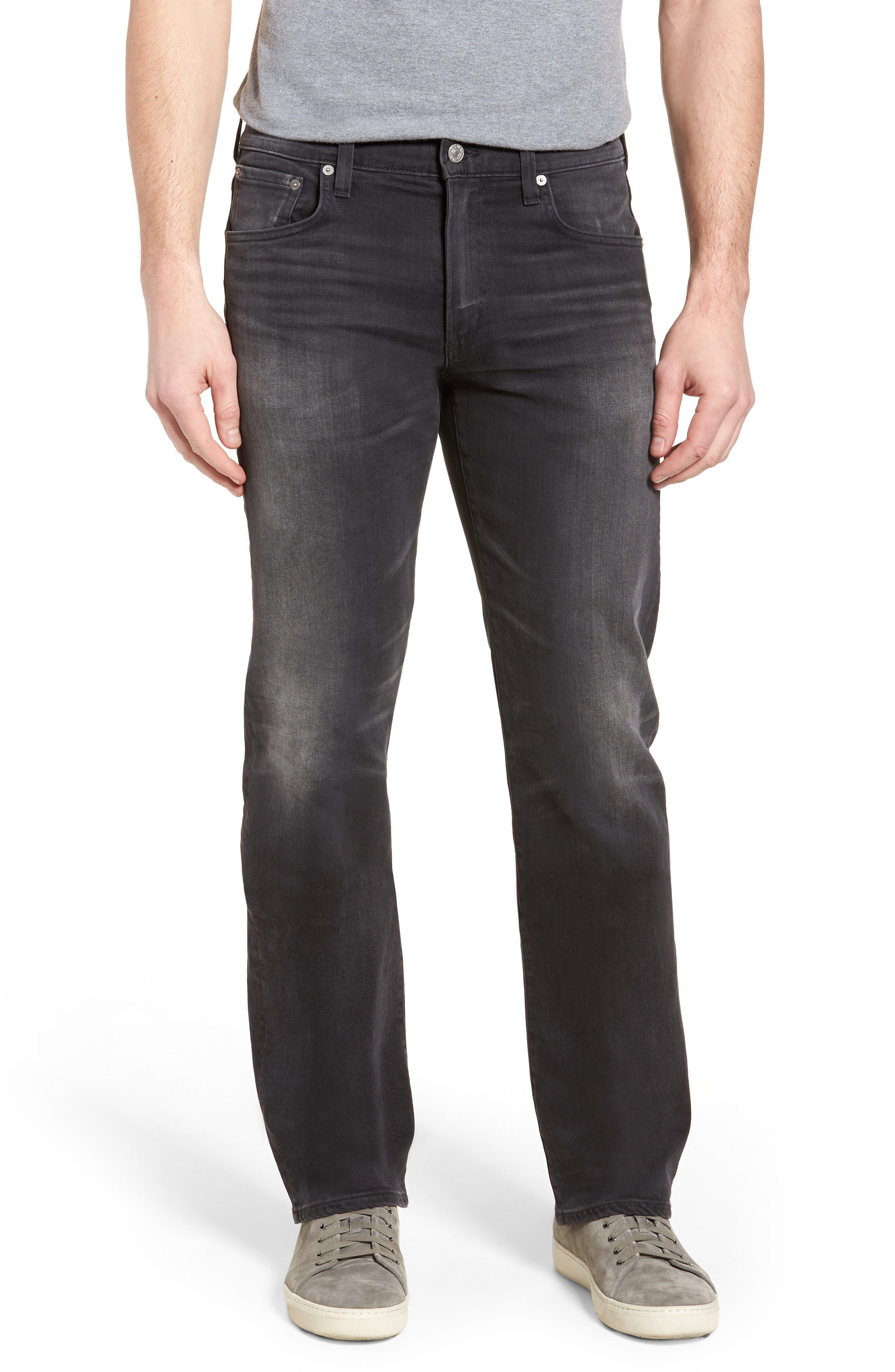 Side Straight Leg Jeans,                         Main,                         color, Lyric
