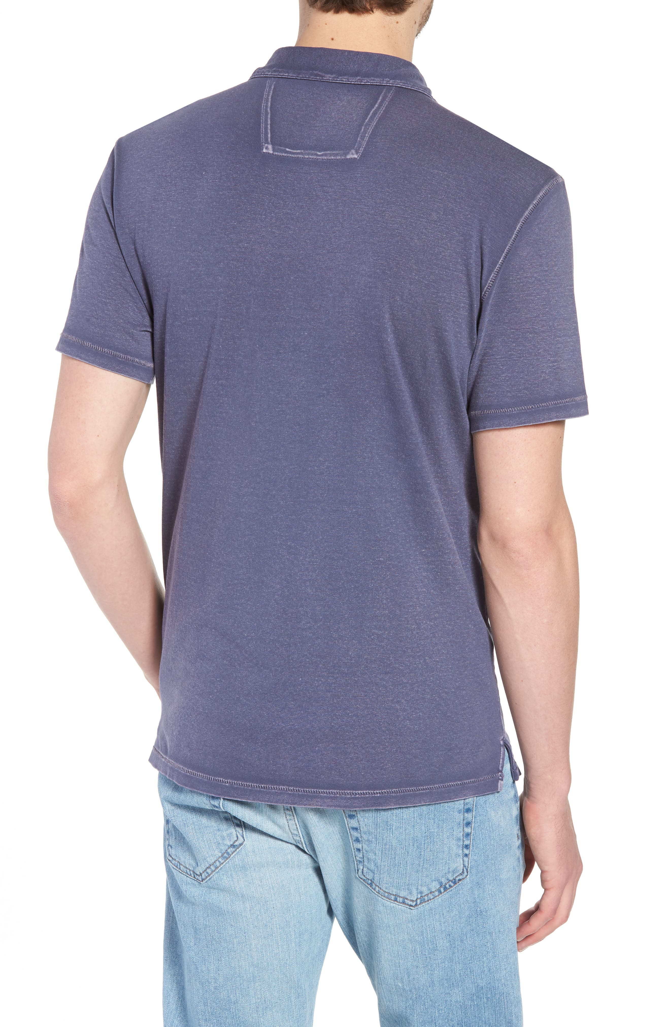 Regular Fit Polo,                             Alternate thumbnail 2, color,                             Dry Lavender