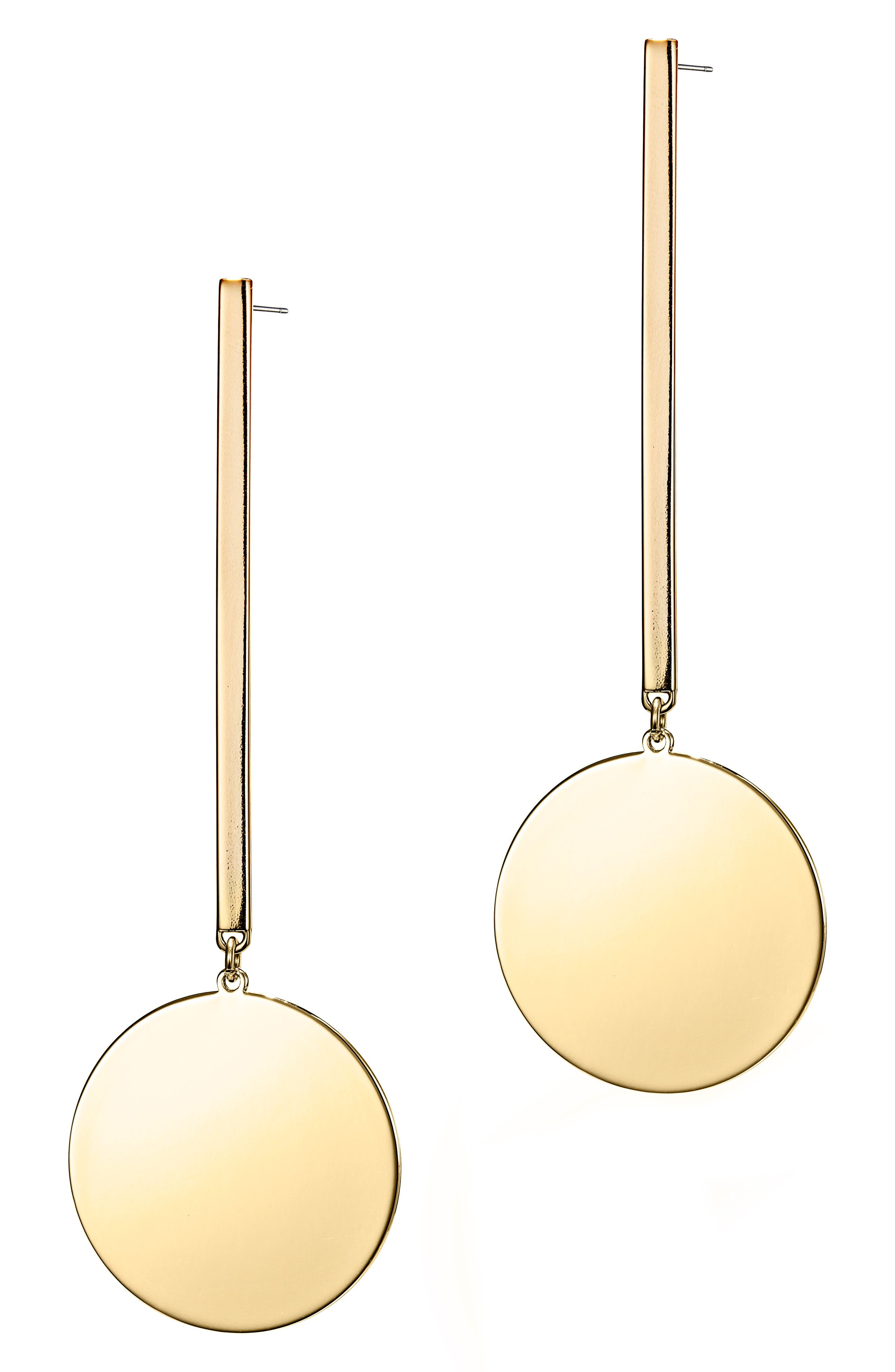 The Andies Drop Earrings,                         Main,                         color, Gold