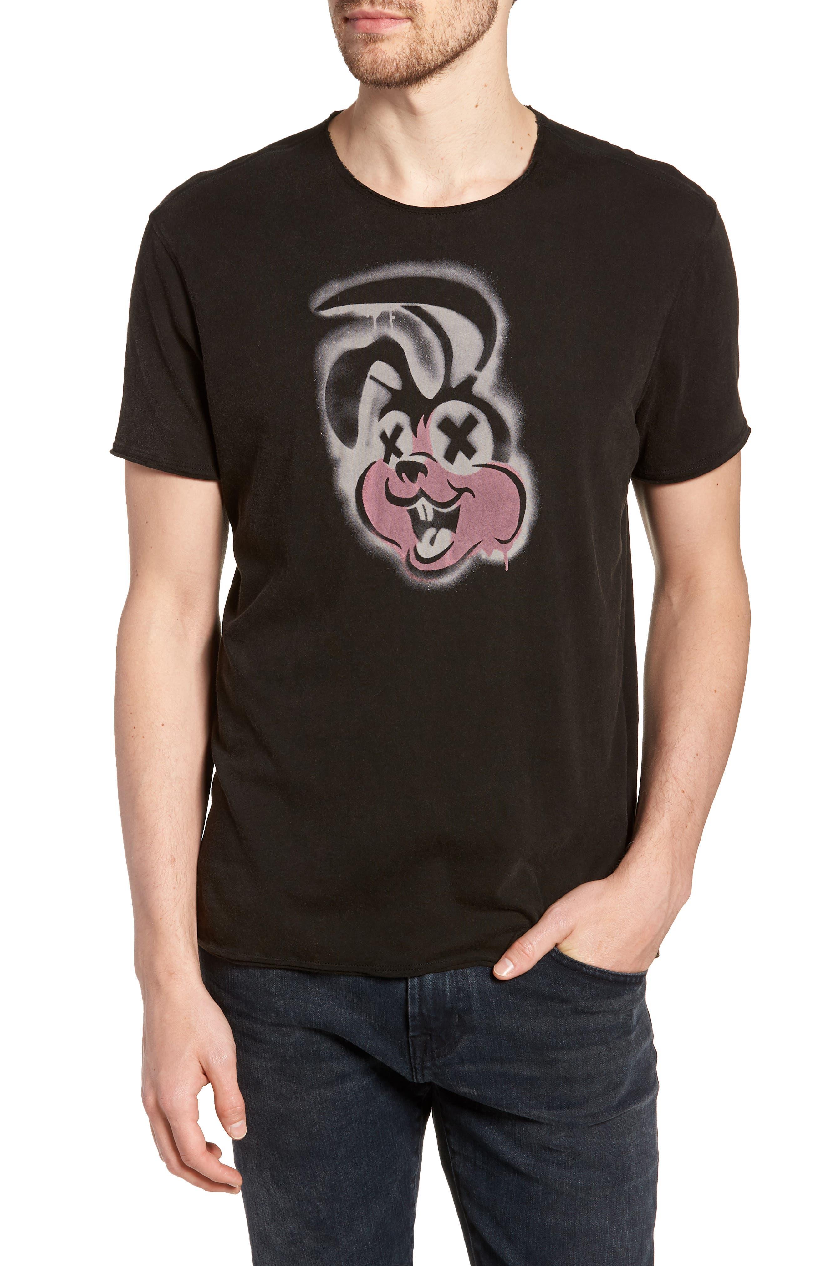 Green Day T-Shirt,                             Main thumbnail 1, color,                             Black