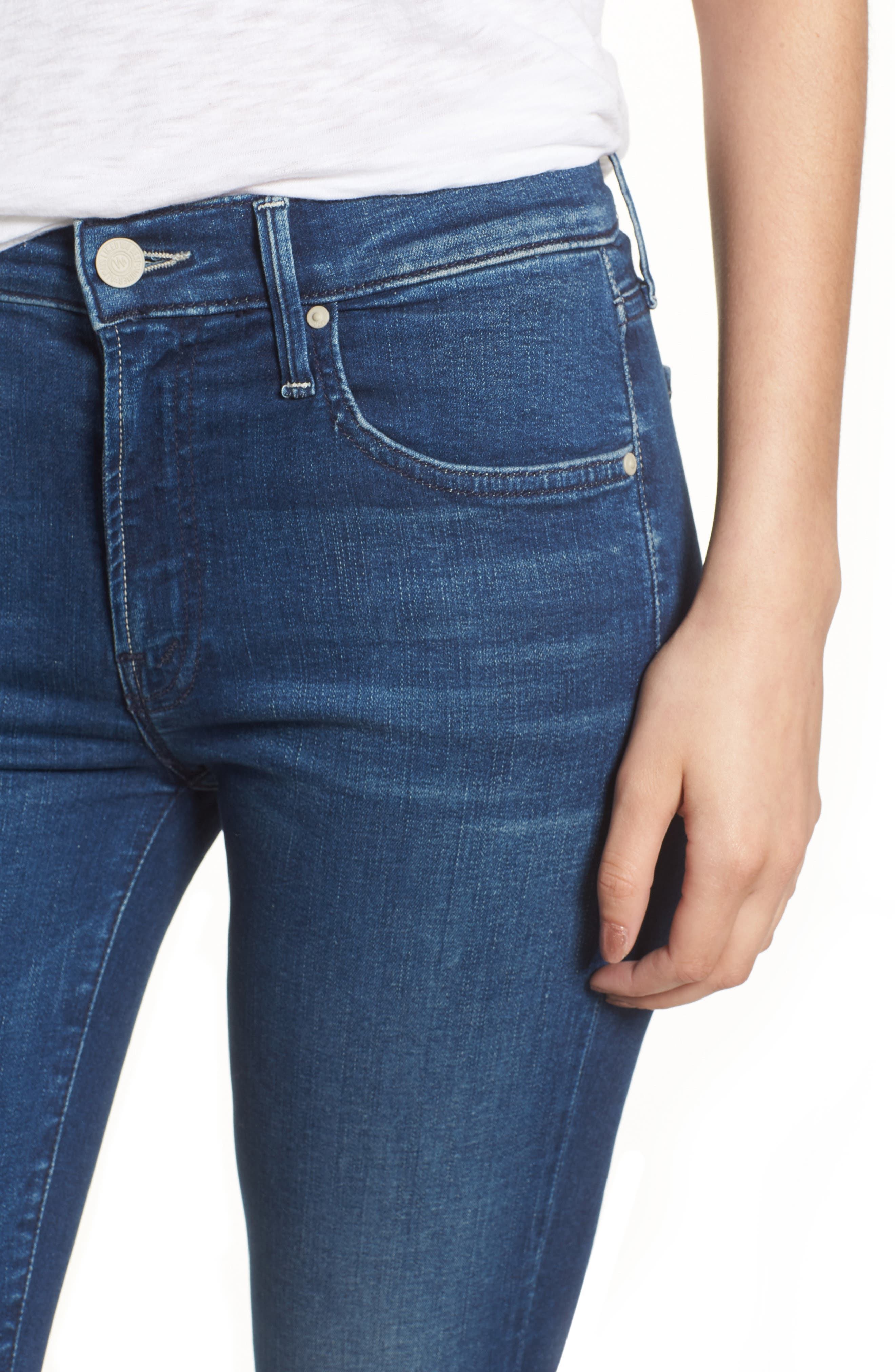 The Outsider Crop Bootcut Jeans,                             Alternate thumbnail 4, color,                             Fast Times