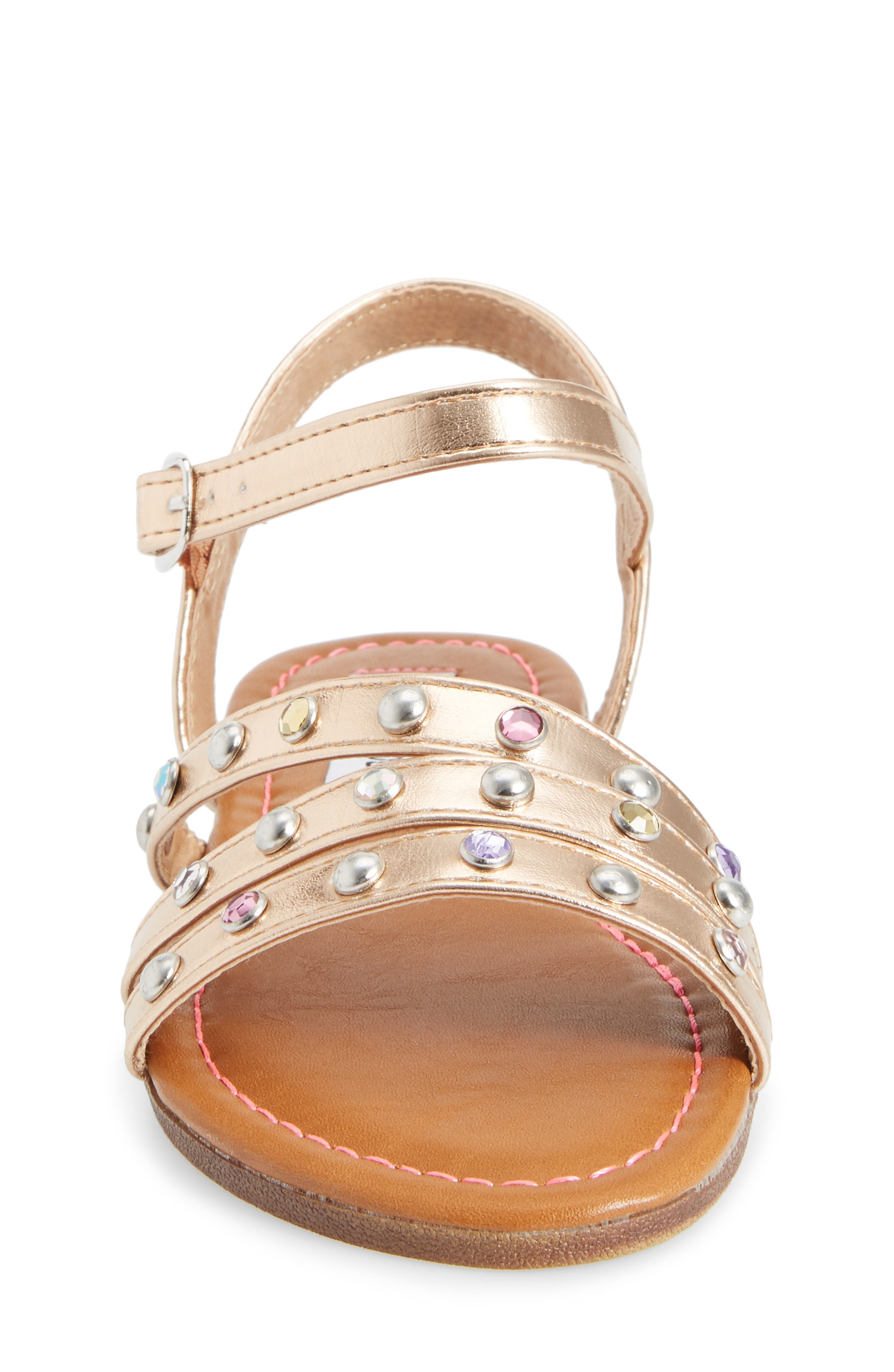 Alternate Image 4  - Steve Madden JSUNSET Crystal Embellished Sandal (Little Kid & Big Kid)