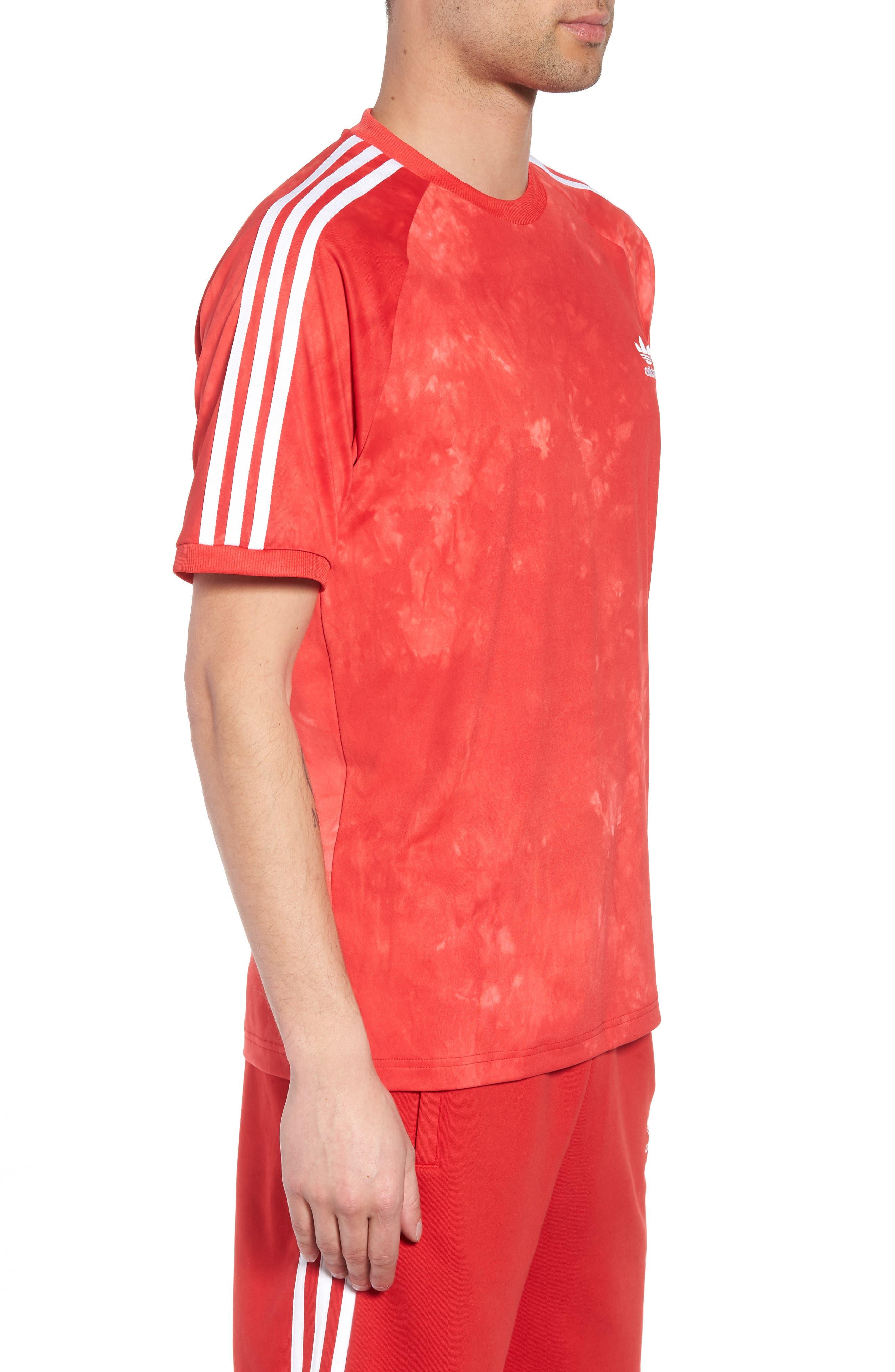 Hu Holi Soccer T-Shirt,                             Alternate thumbnail 3, color,                             Scarlet