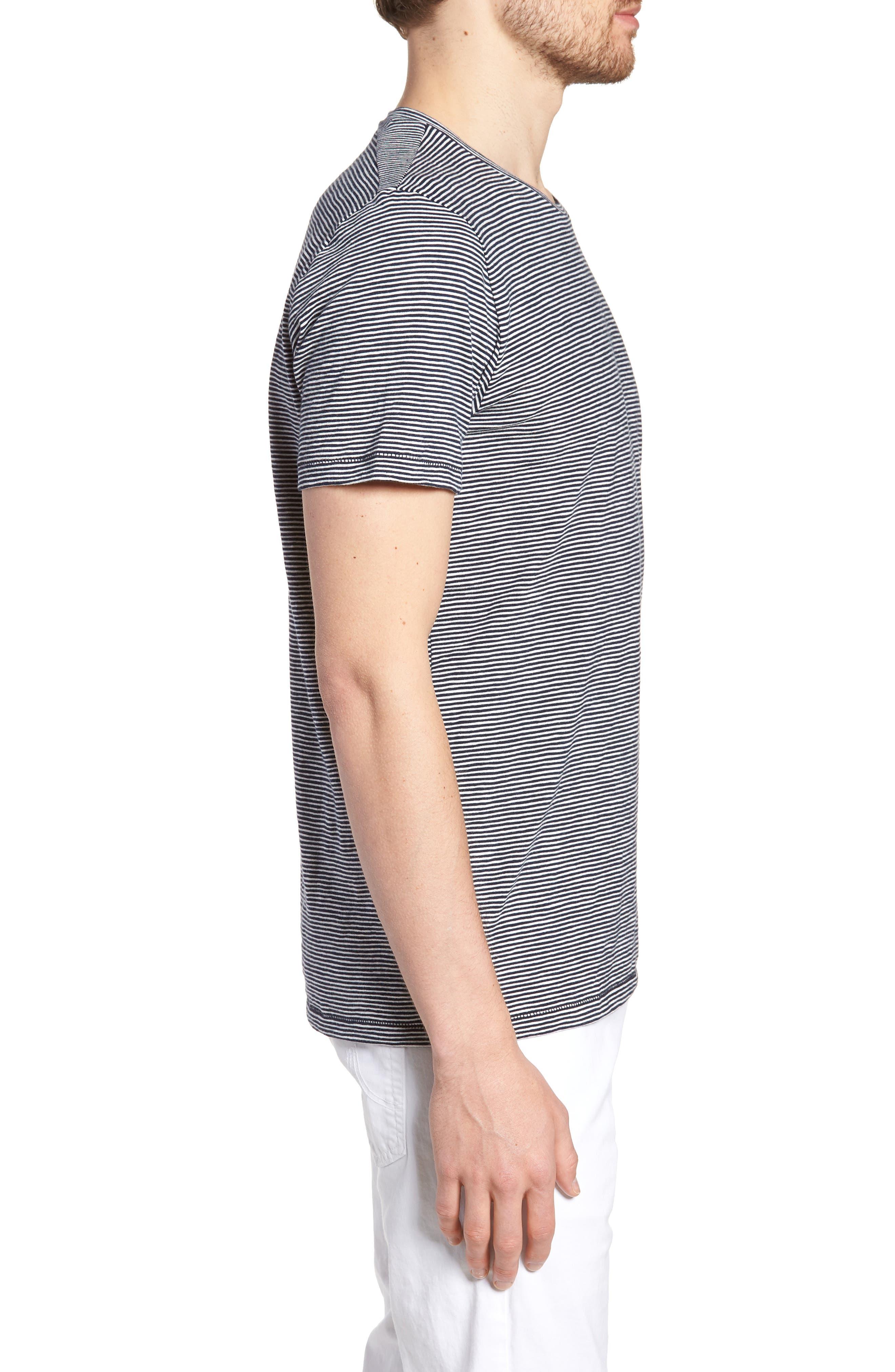 Stripe T-Shirt,                             Alternate thumbnail 3, color,                             Paddleboard Stripe Tee