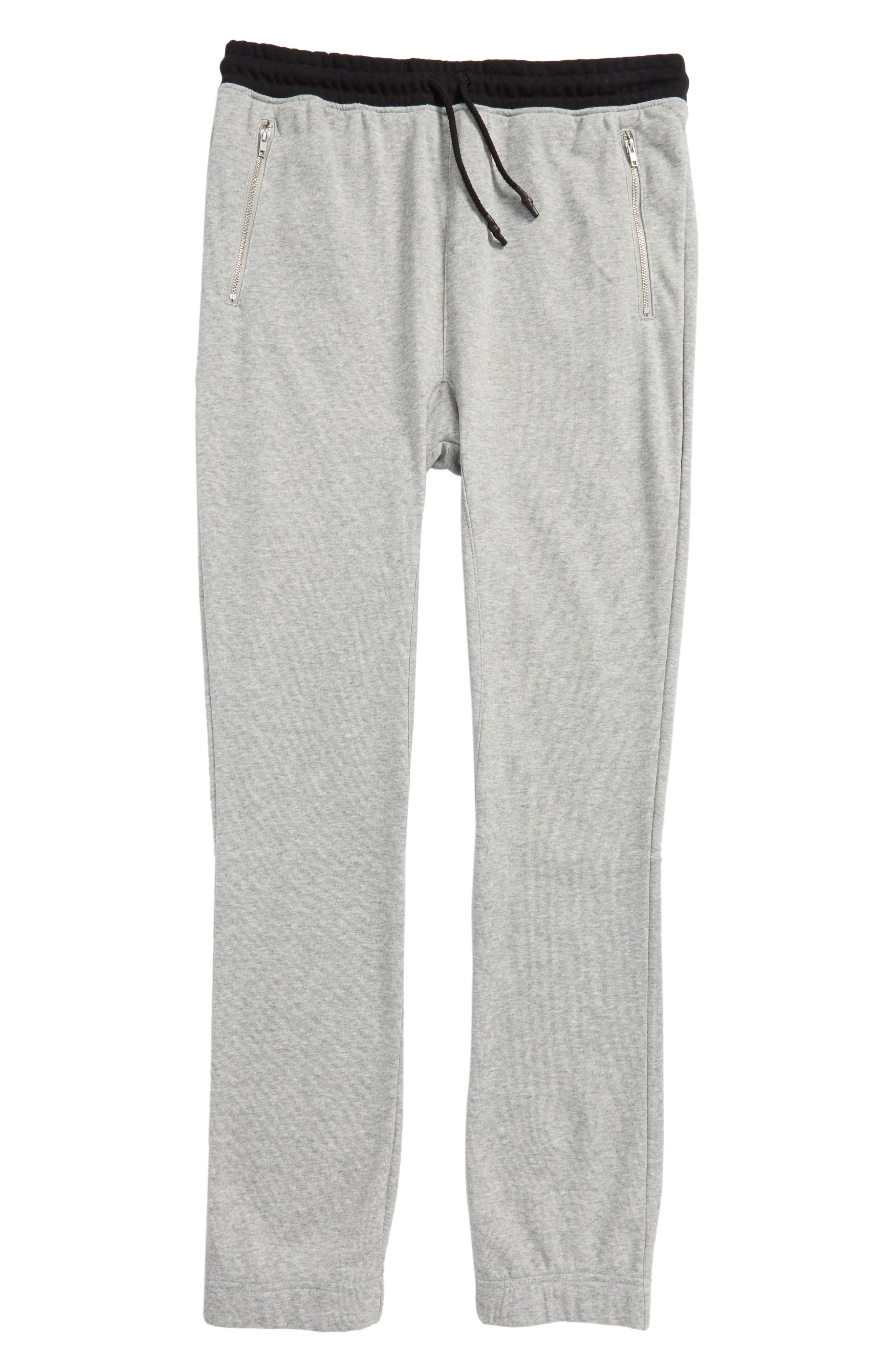 Jogger Pants,                         Main,                         color, Heather Grey/ Black