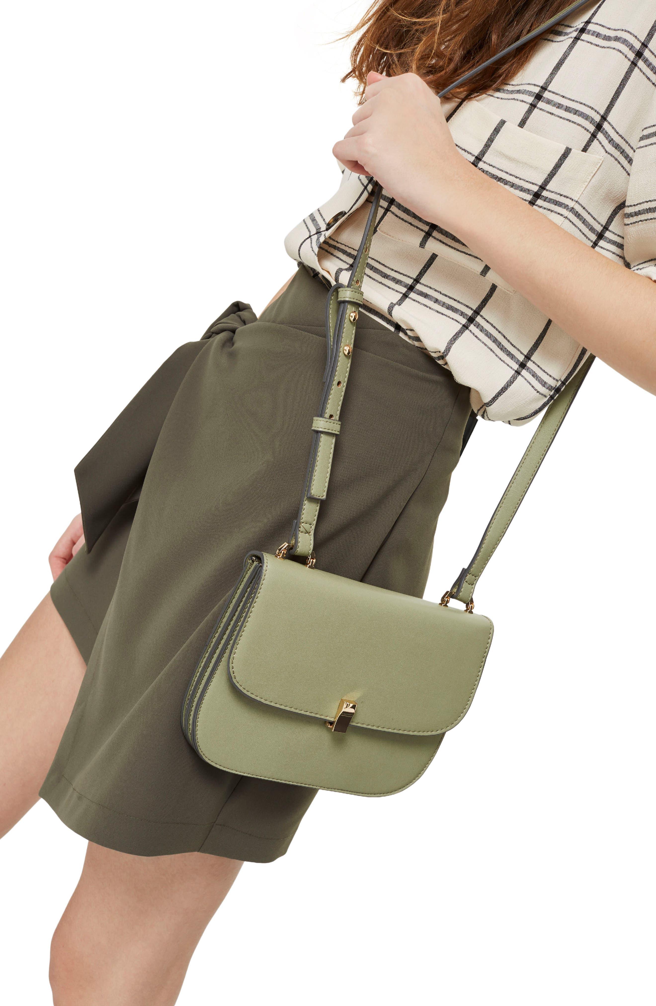 Ottie Crossbody Bag,                             Alternate thumbnail 2, color,                             Green