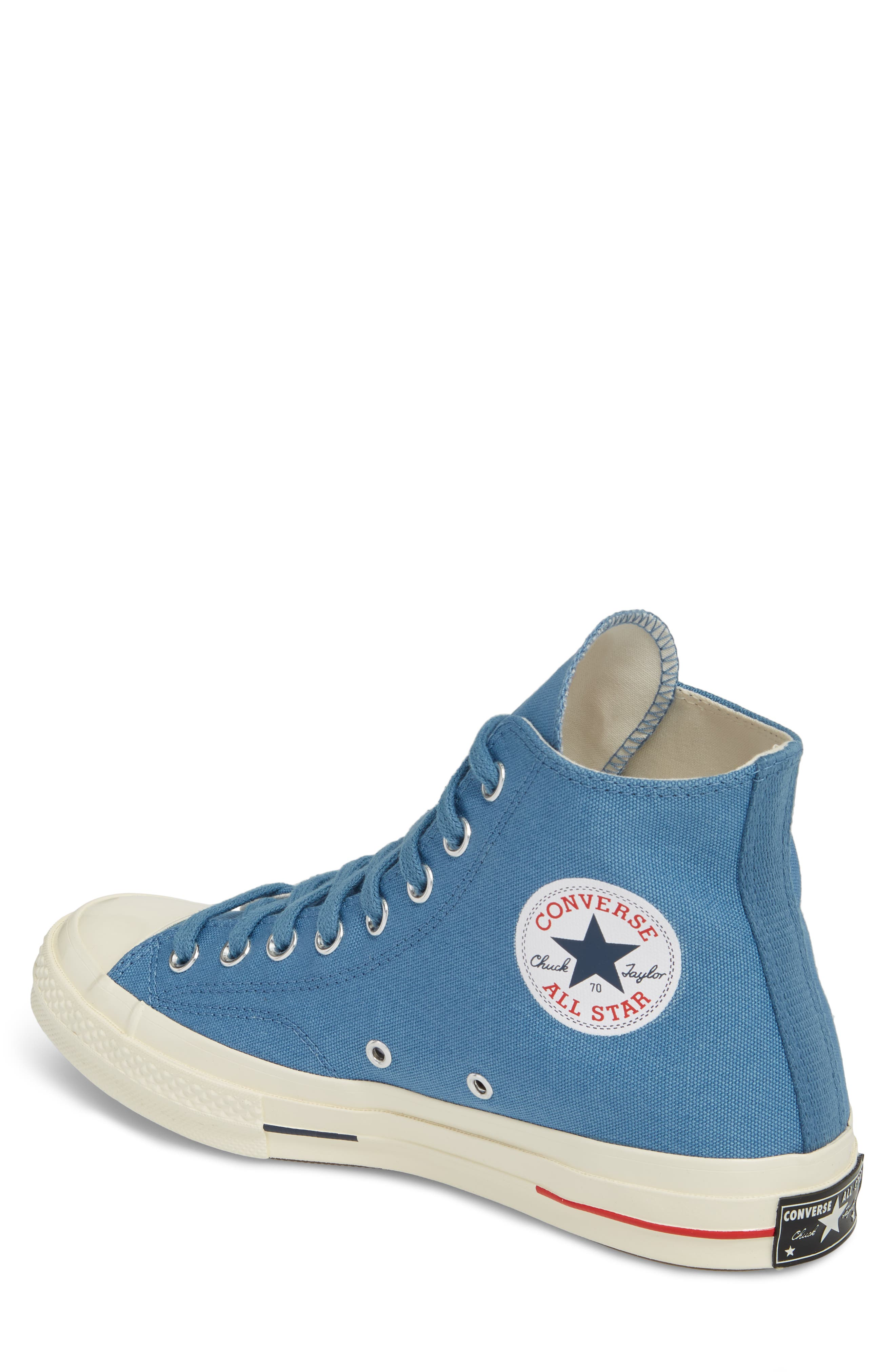Chuck Taylor<sup>®</sup> All Star<sup>®</sup> '70s Heritage High Top Sneaker,                             Alternate thumbnail 2, color,                             Aegean Storm