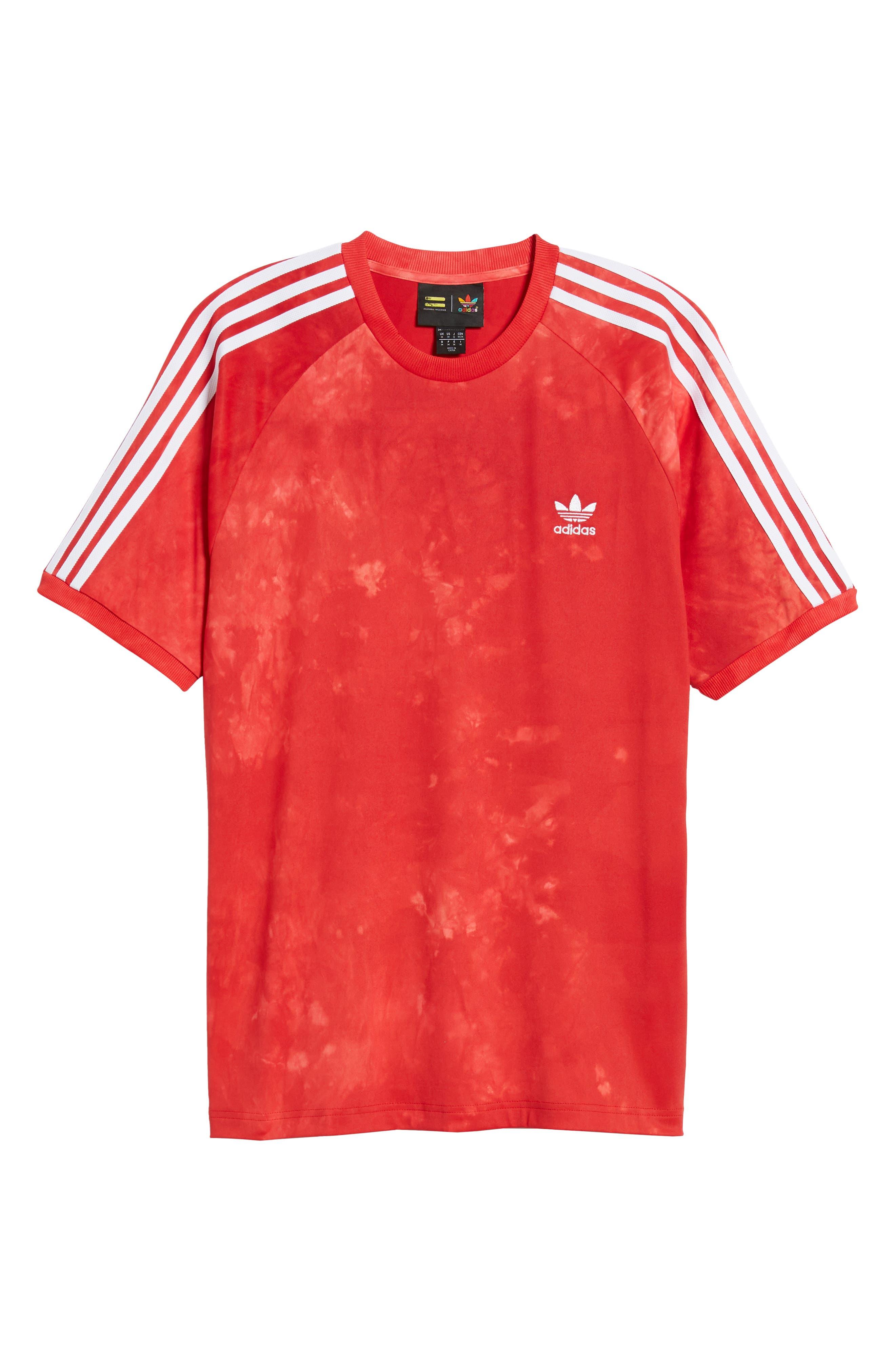 Hu Holi Soccer T-Shirt,                             Alternate thumbnail 6, color,                             Scarlet