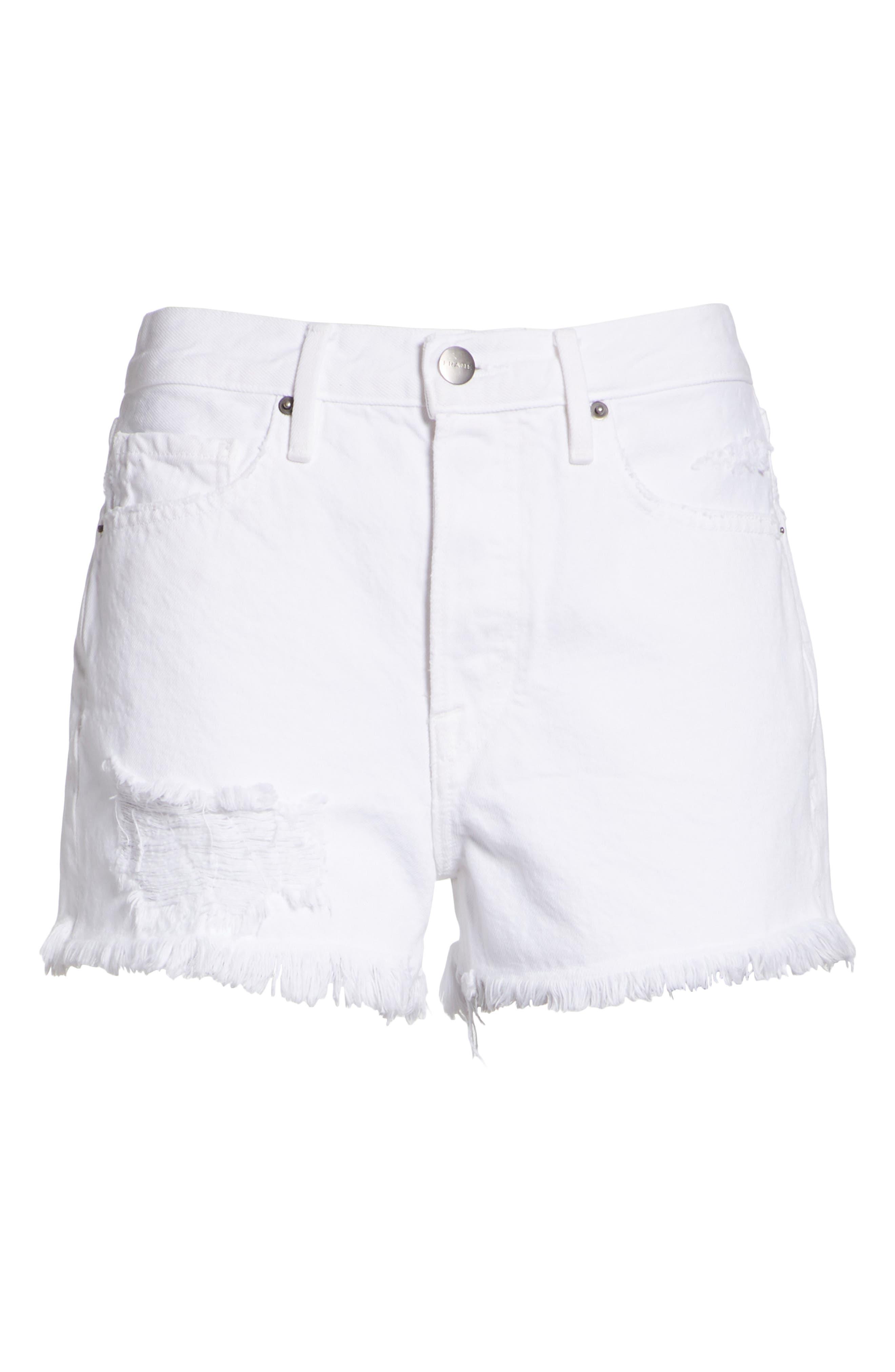 Rigid Re-Release - Le Original Shorts,                             Alternate thumbnail 6, color,                             Blanc Stockley