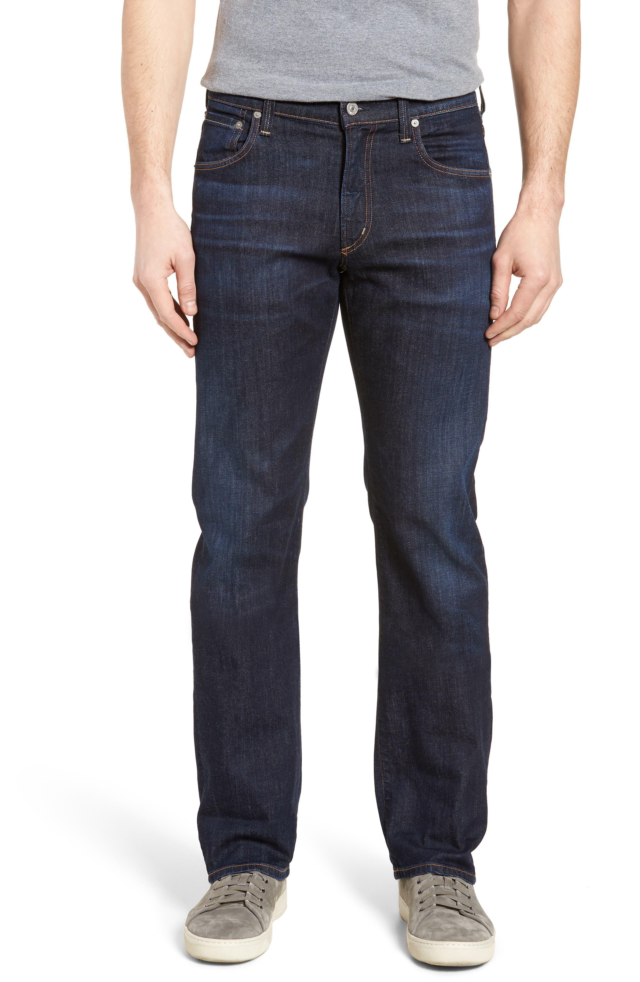 Sid Straight Leg Jeans,                             Main thumbnail 1, color,                             Emery
