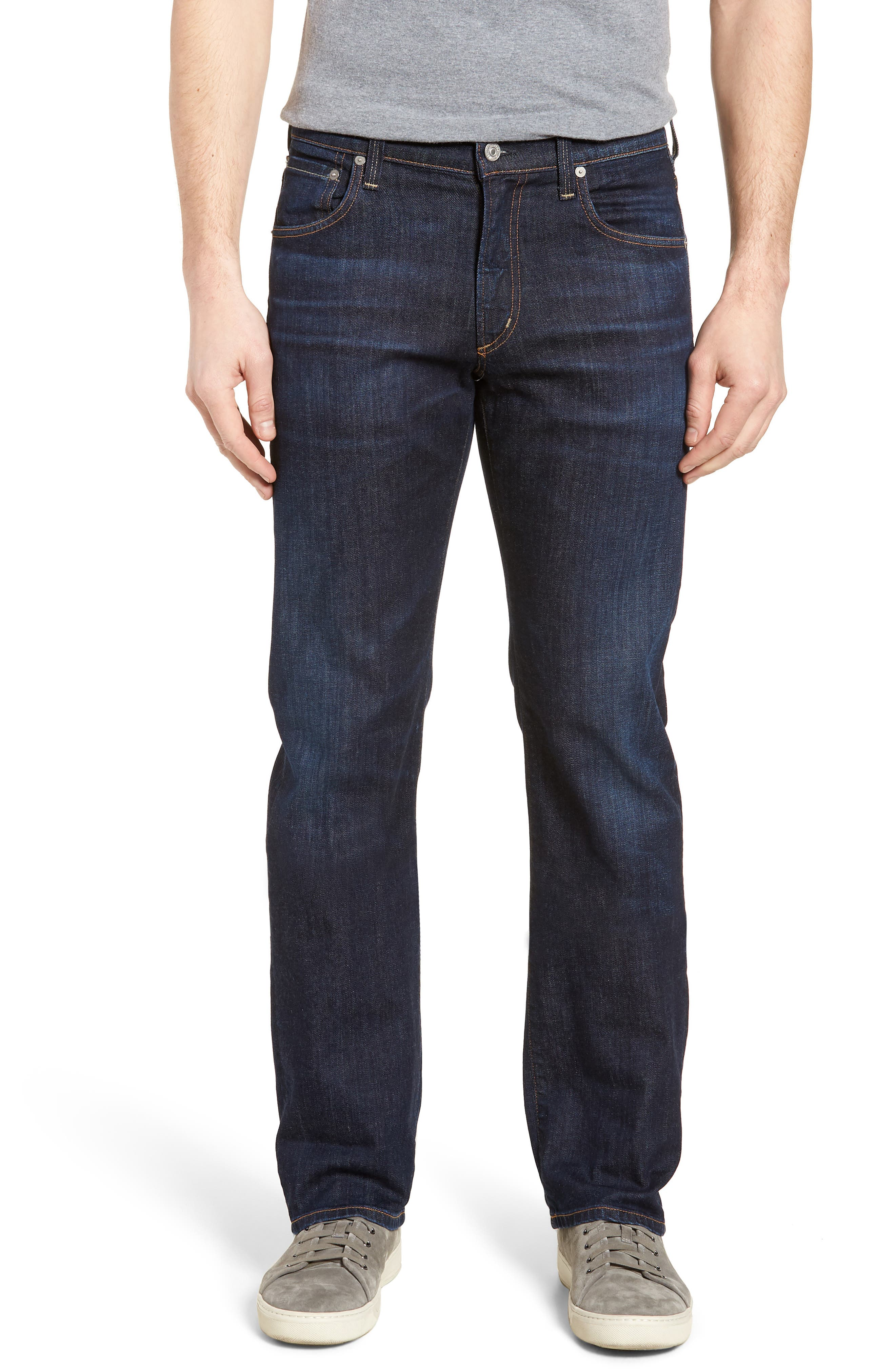 Sid Straight Leg Jeans,                         Main,                         color, Emery