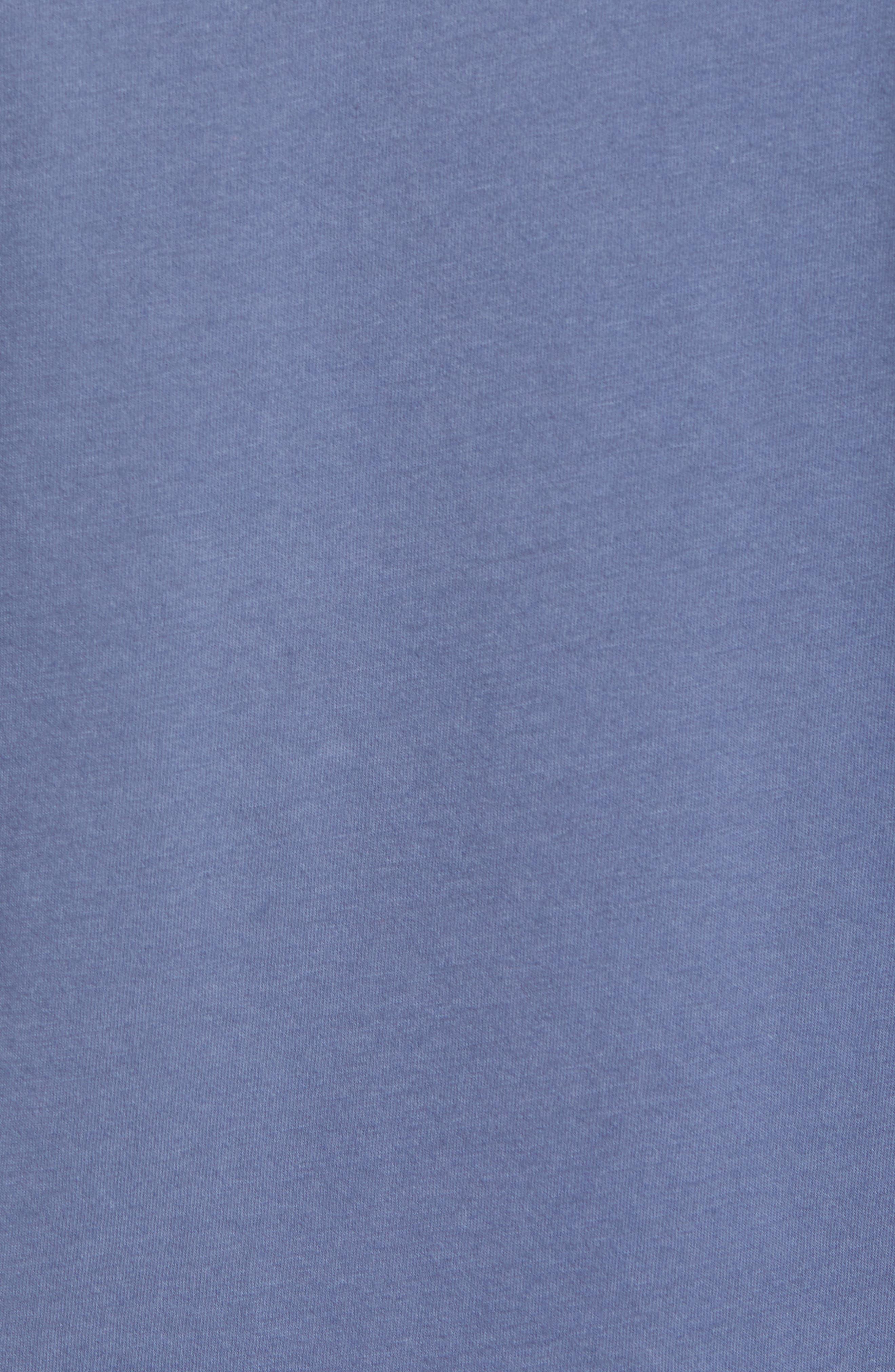 Fitz Roy Scope Crewneck T-Shirt,                             Alternate thumbnail 5, color,                             Dolomite Blue