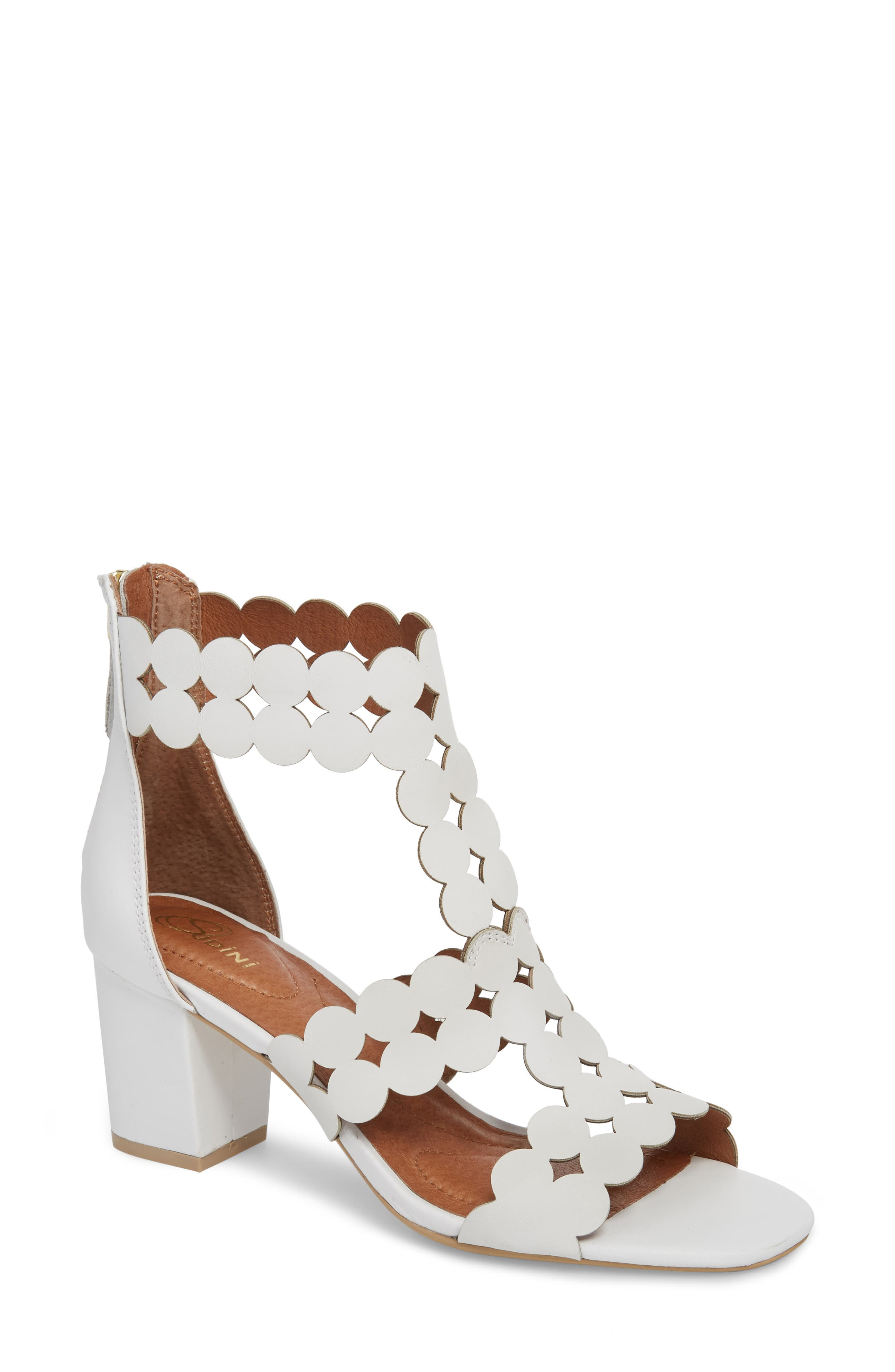Sudini Novara Block Heel Sandal (Women)