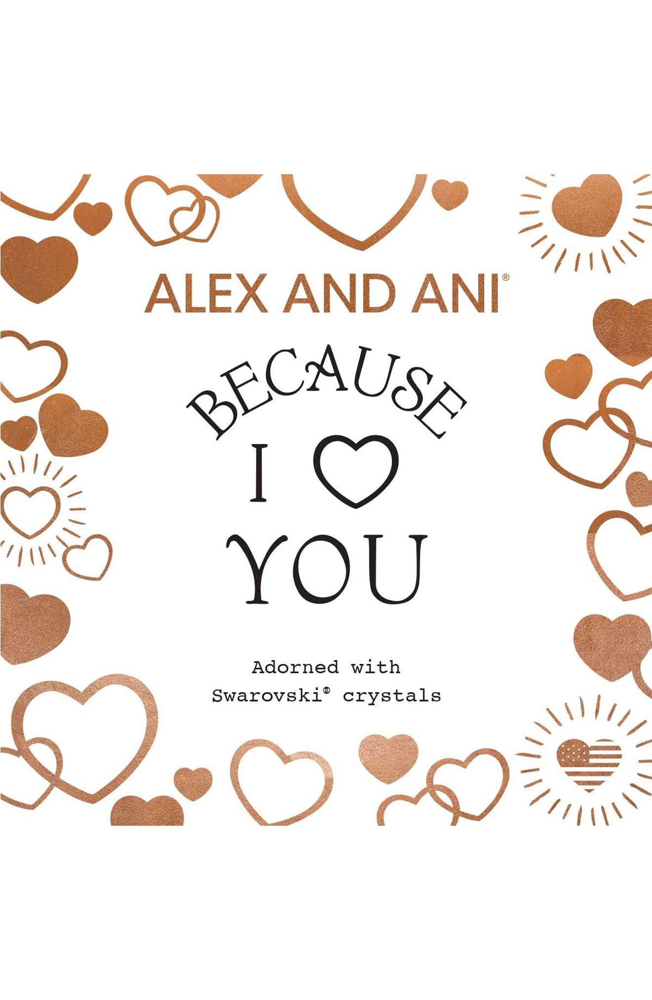Because I Love You Bracelet,                             Alternate thumbnail 3, color,