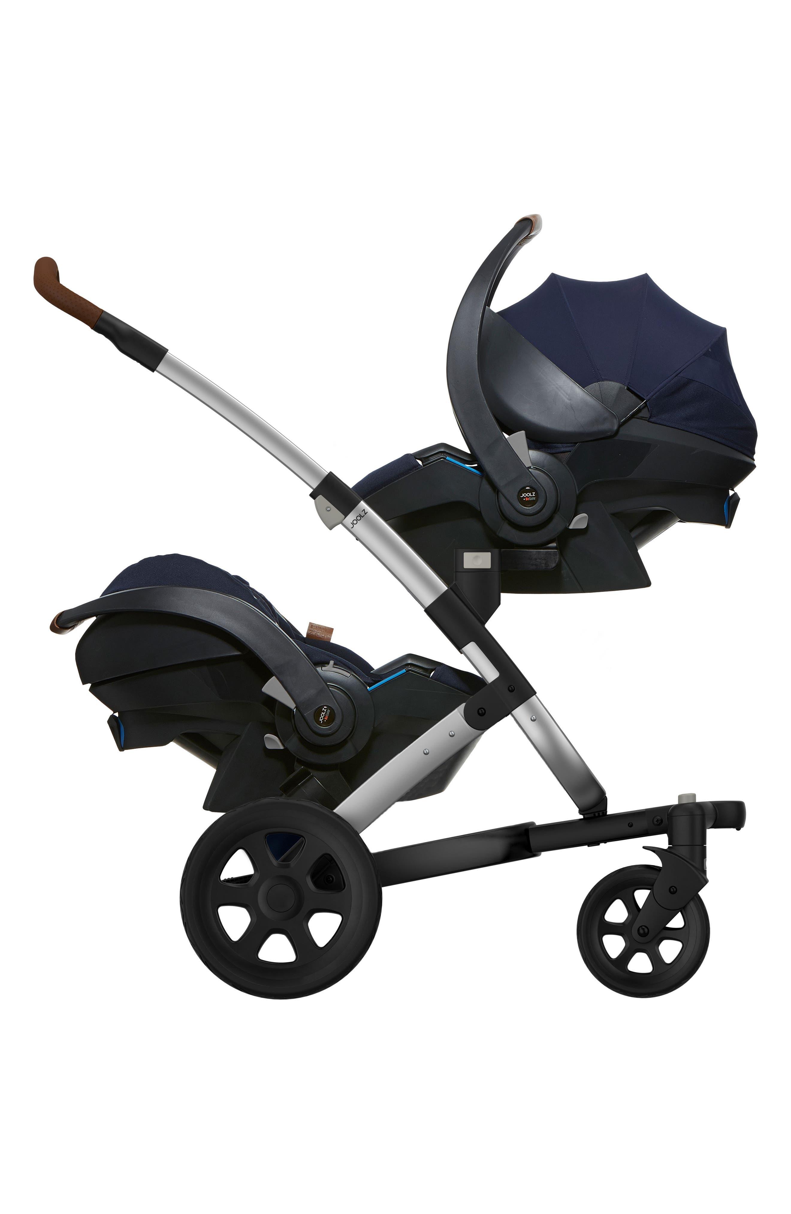 Geo2 Stroller Lower Car Seat Adapter Set,                             Alternate thumbnail 2, color,                             Black