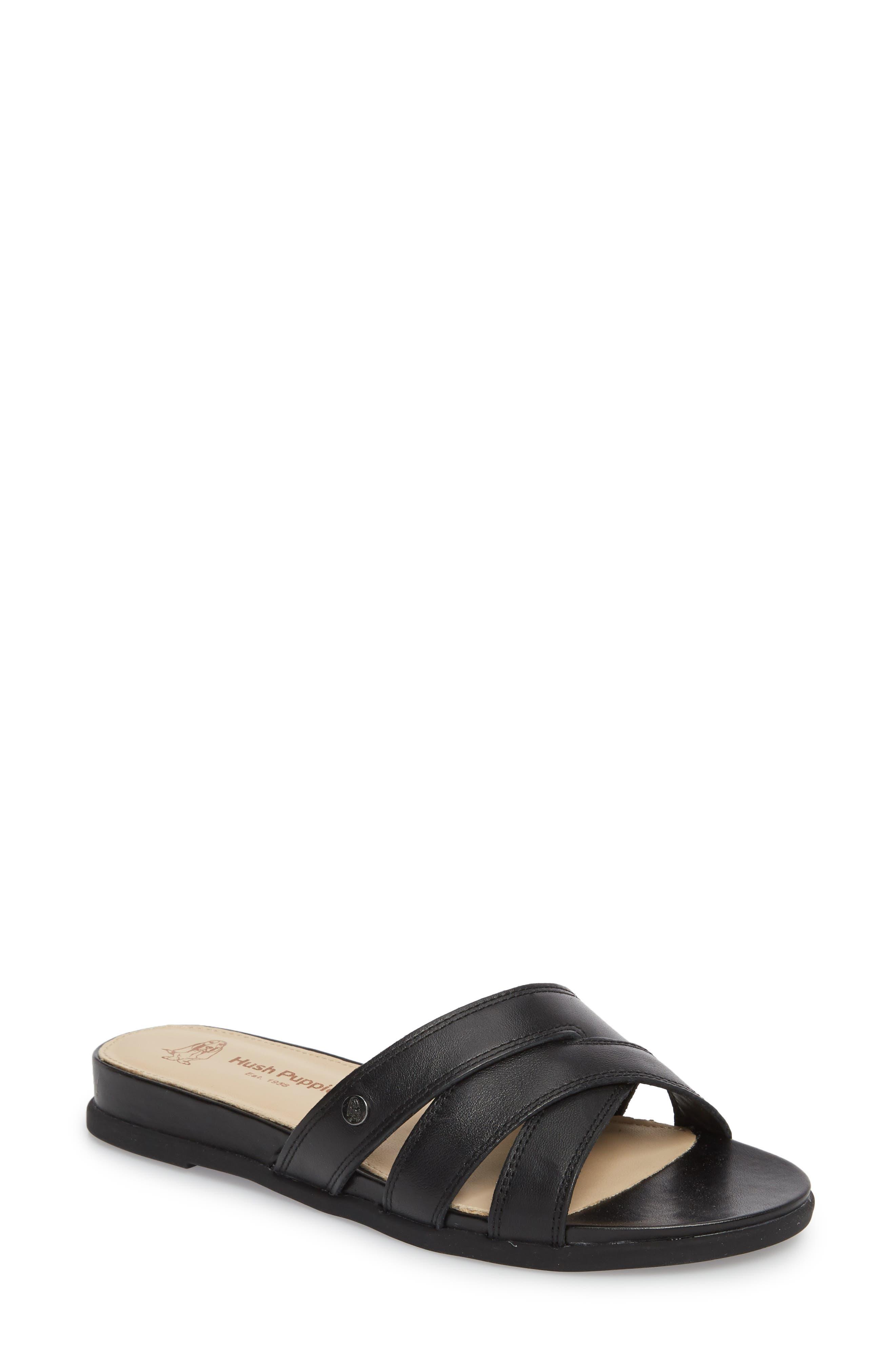 Hush Puppies® Dalmatian Slide Sandal (Women)
