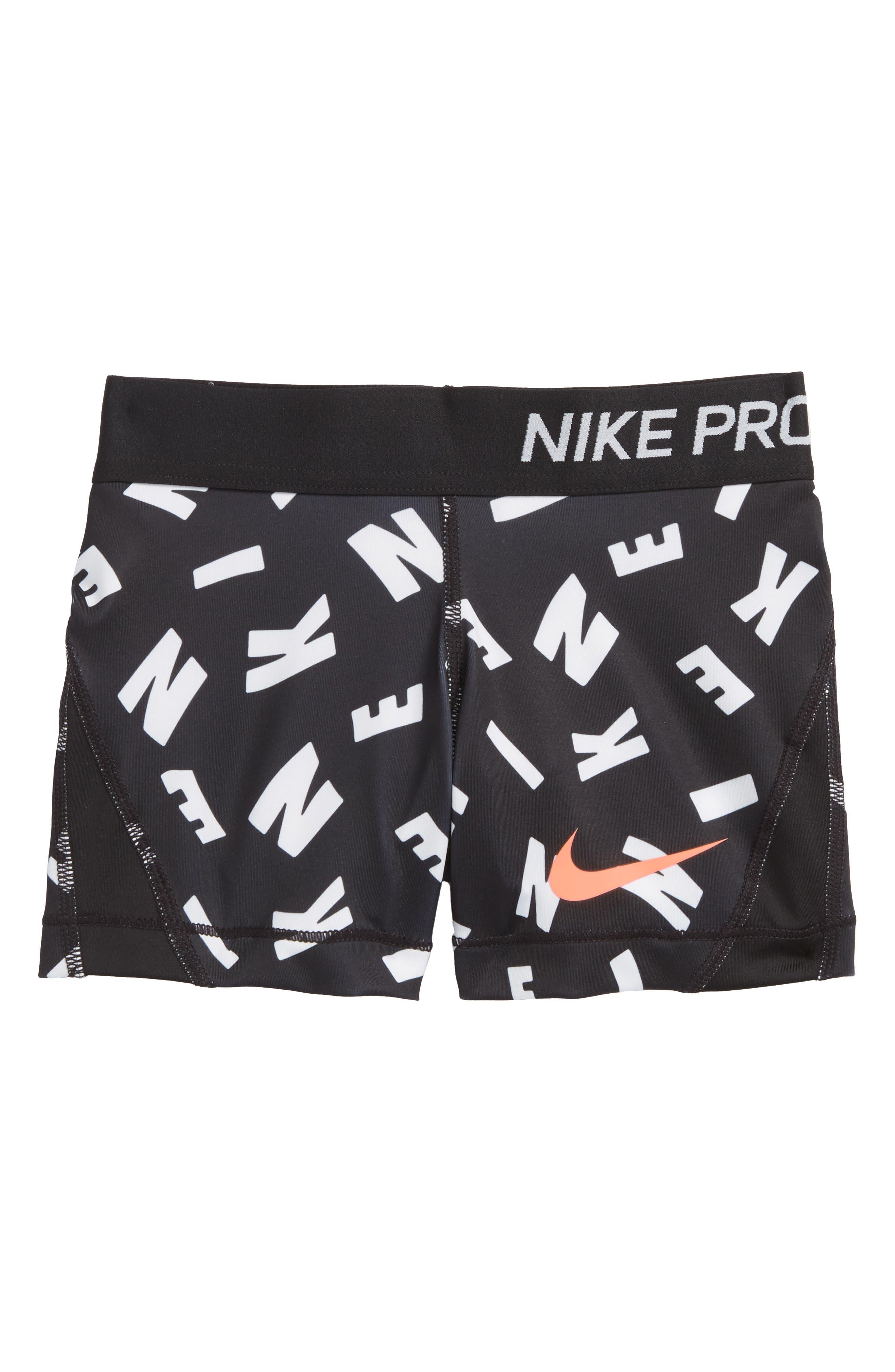 Nike Pro Dry Shorts (Big Girls)