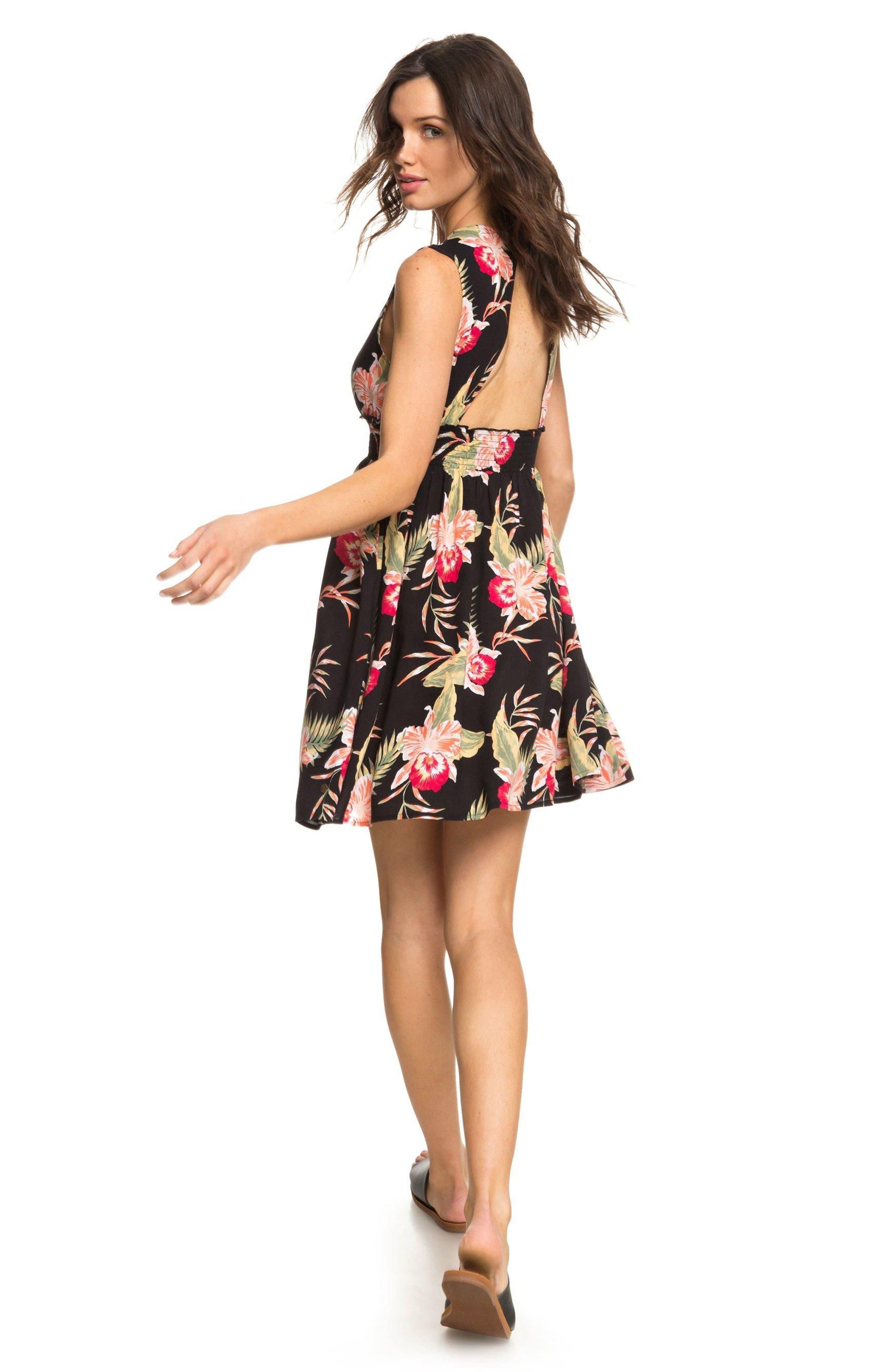 Alternate Image 5  - Roxy Angelic Grace Print Dress
