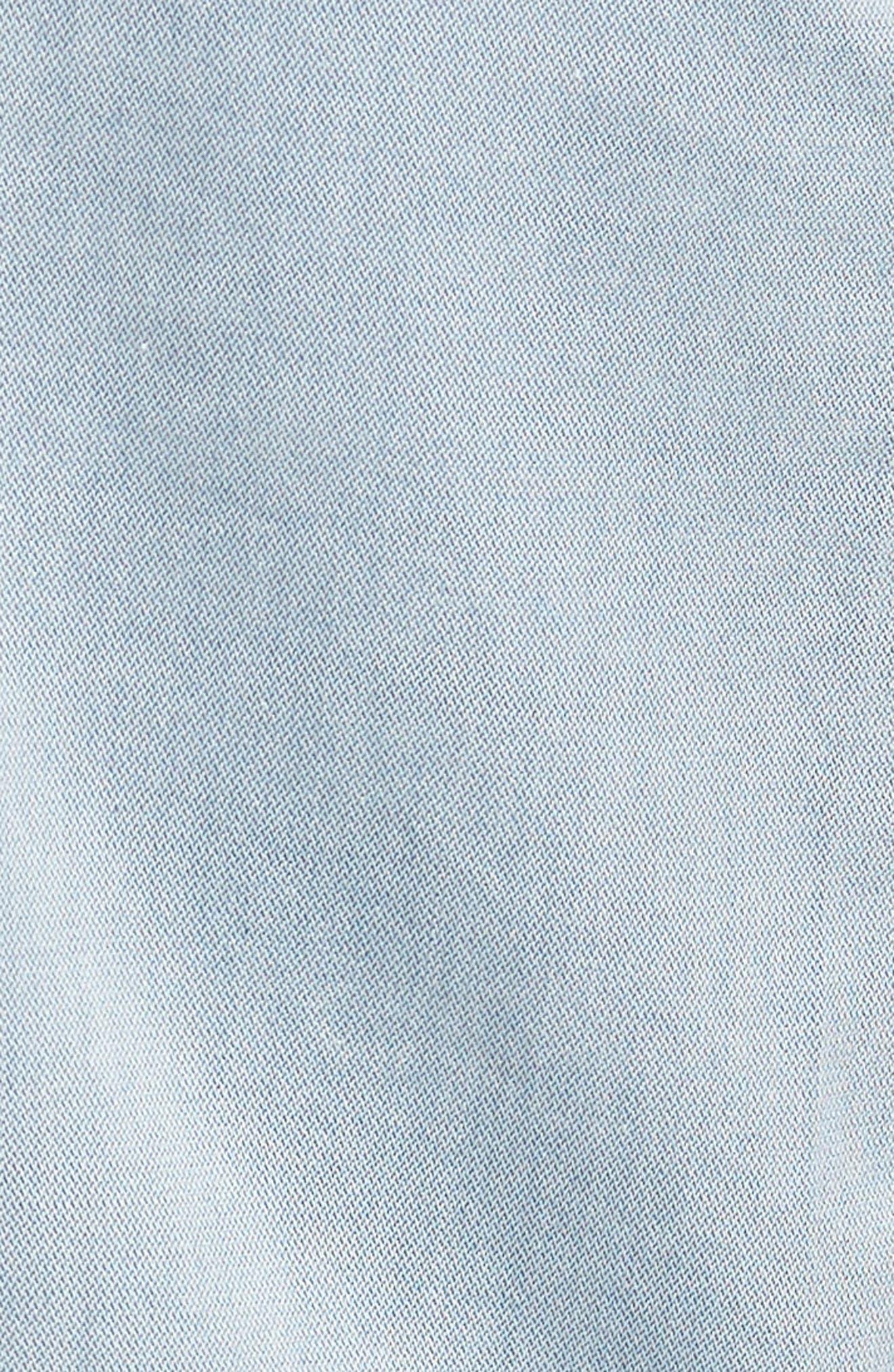 Jake Slim Fit Jeans,                             Alternate thumbnail 5, color,                             Blue Reversed