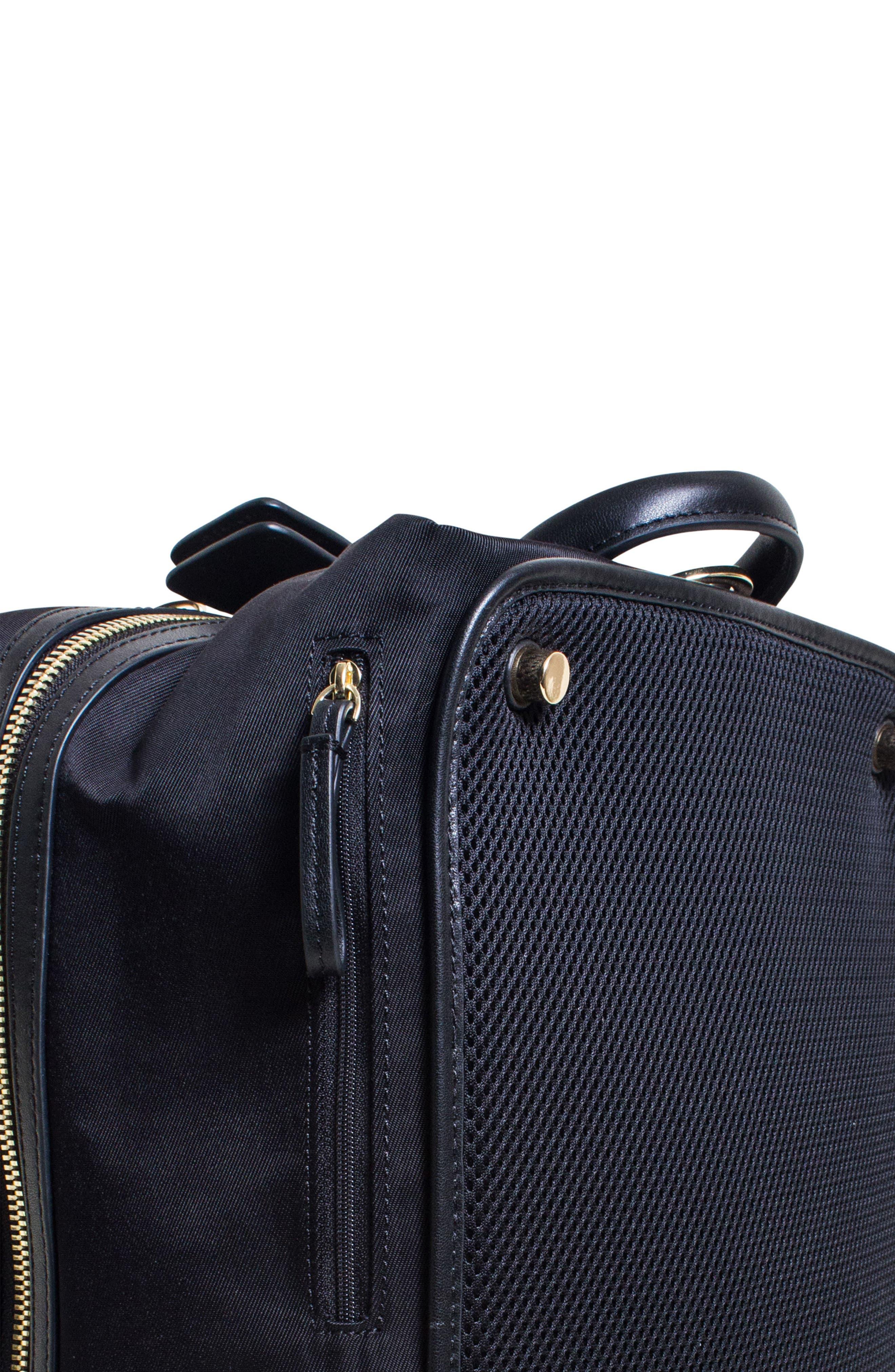 Studio Duffel Backpack,                             Alternate thumbnail 6, color,                             Black