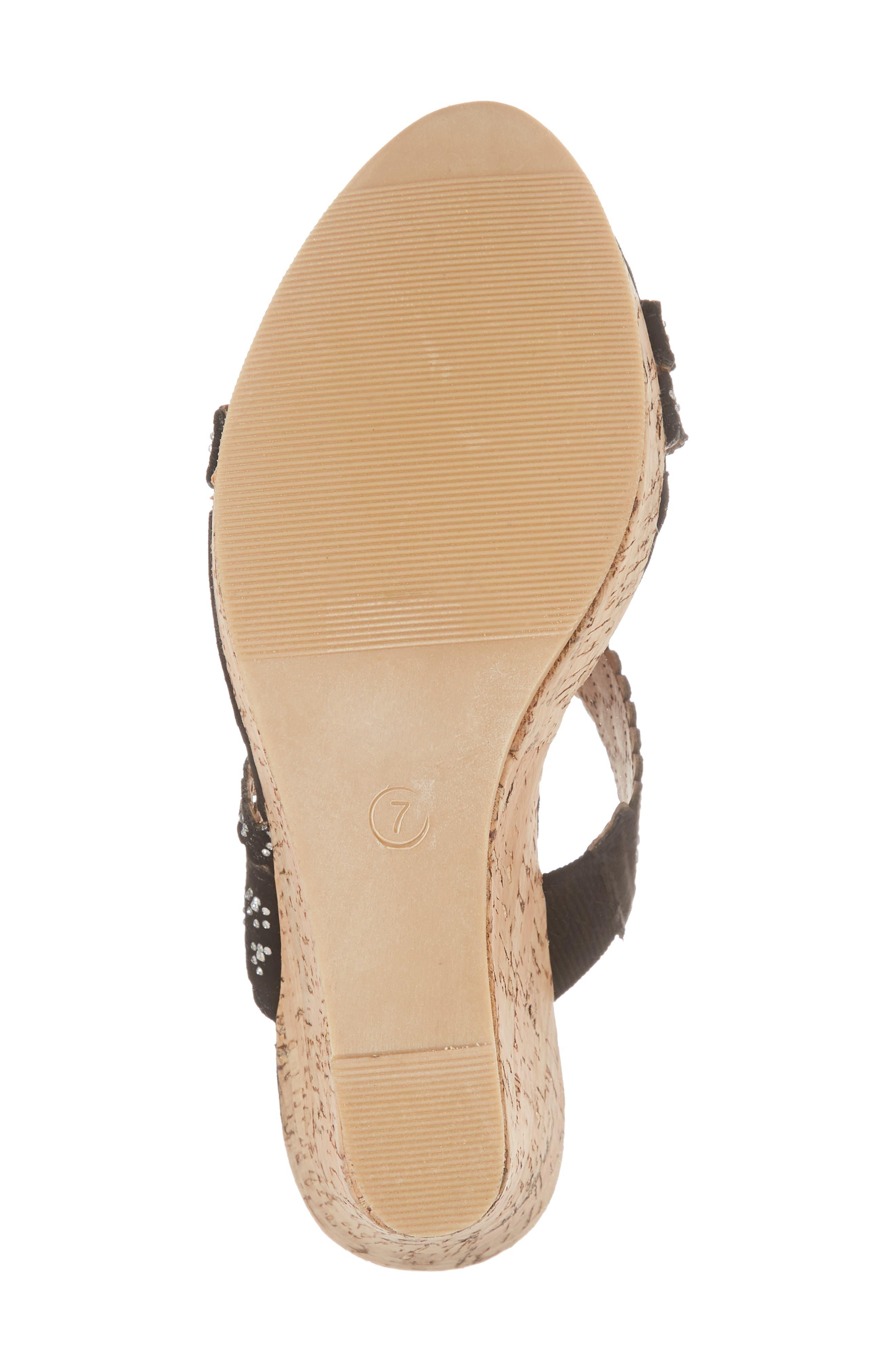 Alternate Image 6  - Athena Alexander Aerin Embellished Wedge Sandal (Women)