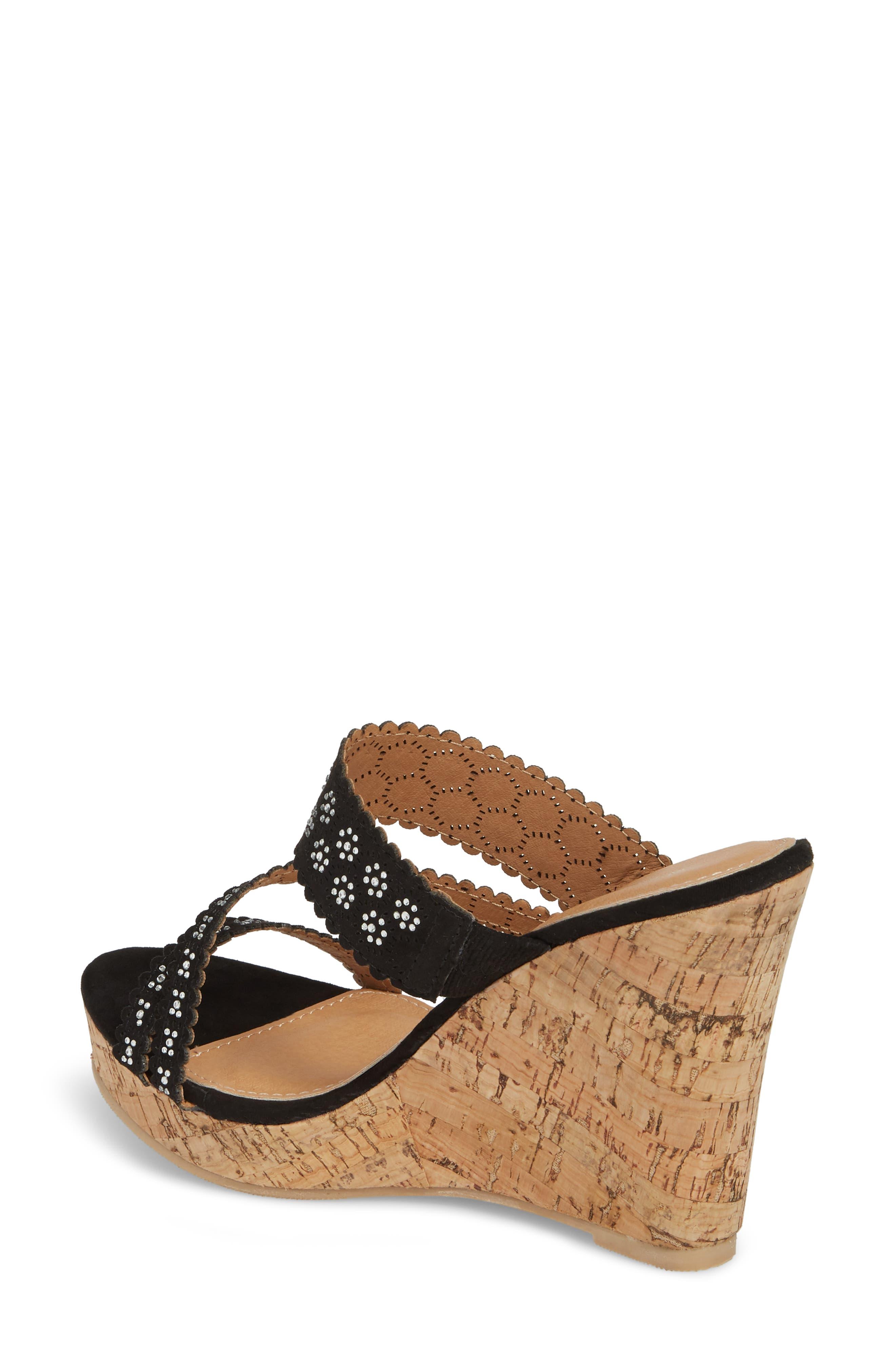 Alternate Image 2  - Athena Alexander Aerin Embellished Wedge Sandal (Women)