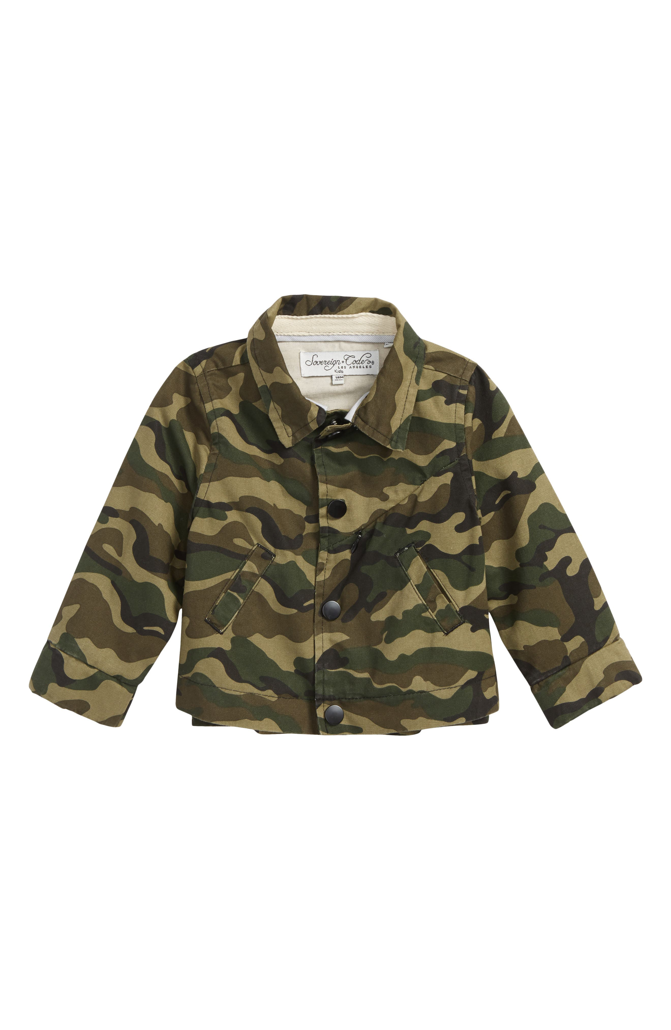Sovereign Code Porter Camo Shirt (Baby Boys)