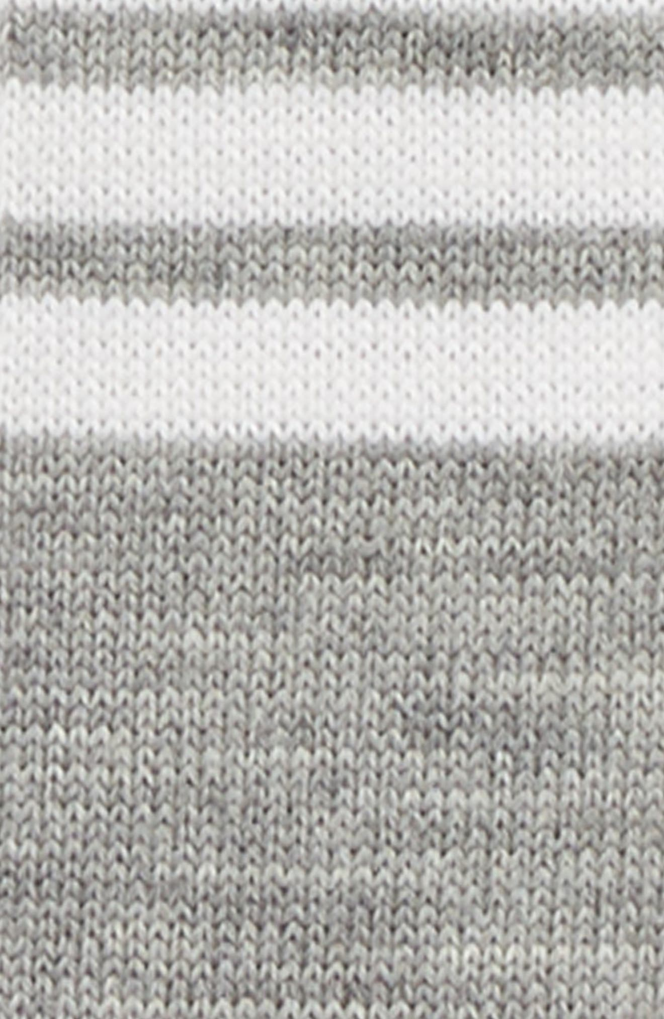 4-Bar Wool Knit Tie,                             Alternate thumbnail 2, color,                             Med Grey