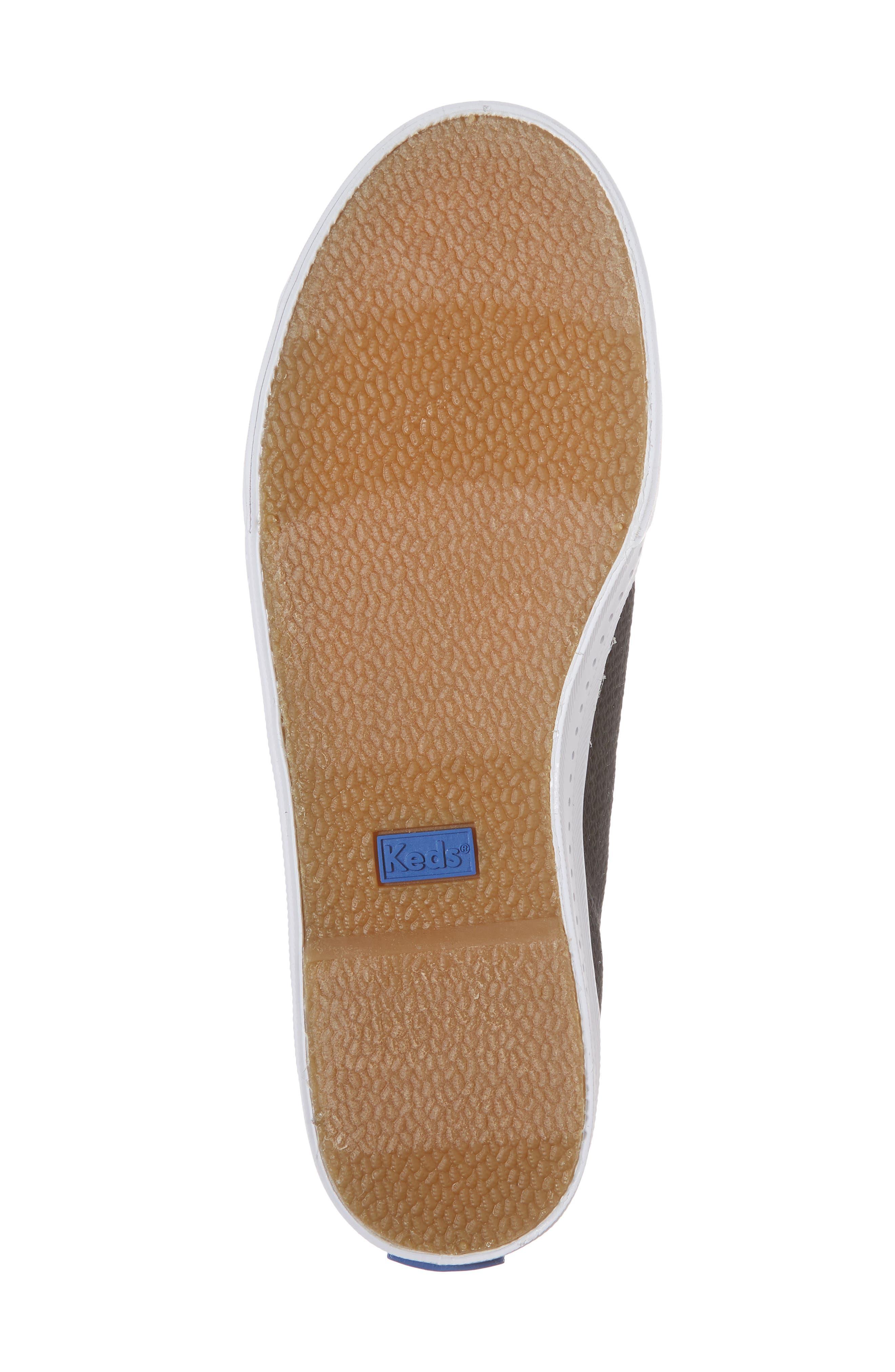 Driftkick Heathered Mesh Sneaker,                             Alternate thumbnail 6, color,                             Black