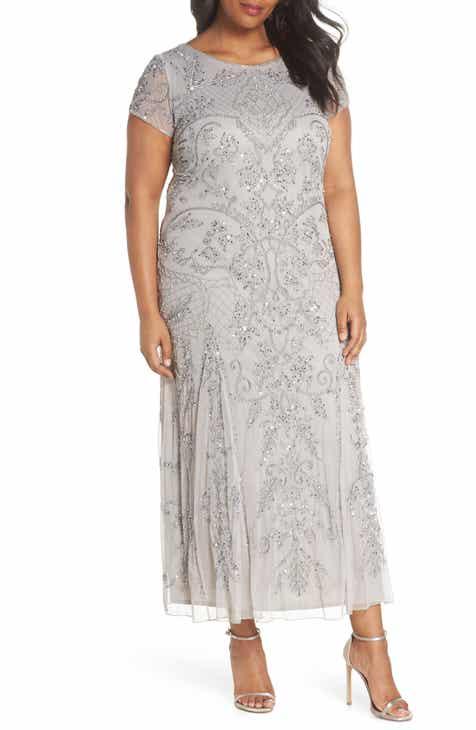 Women\'s Grey Wedding Guest Plus-Size Dresses | Nordstrom