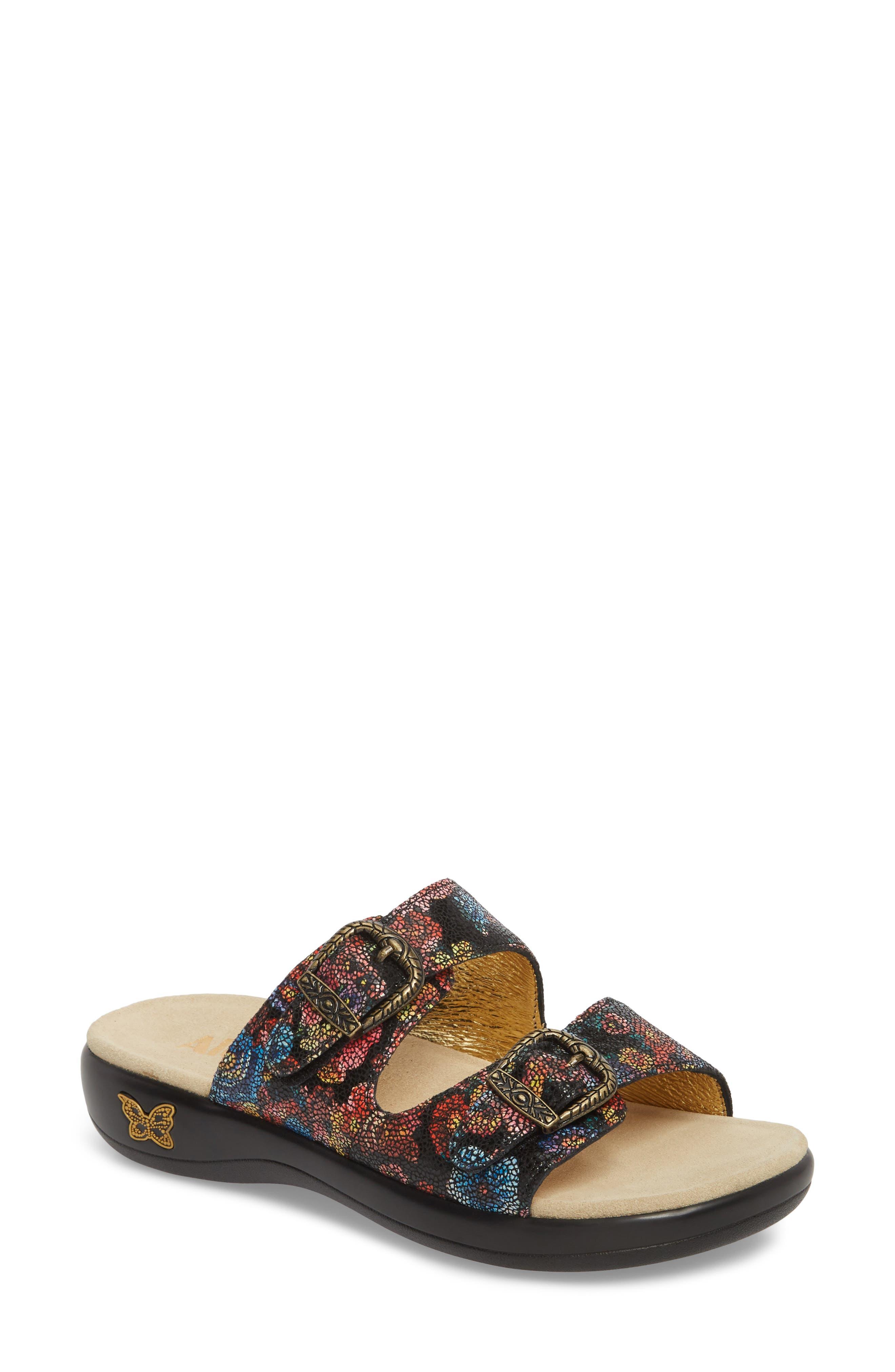 Jade Sandal,                             Main thumbnail 1, color,                             Florensic Files Leather