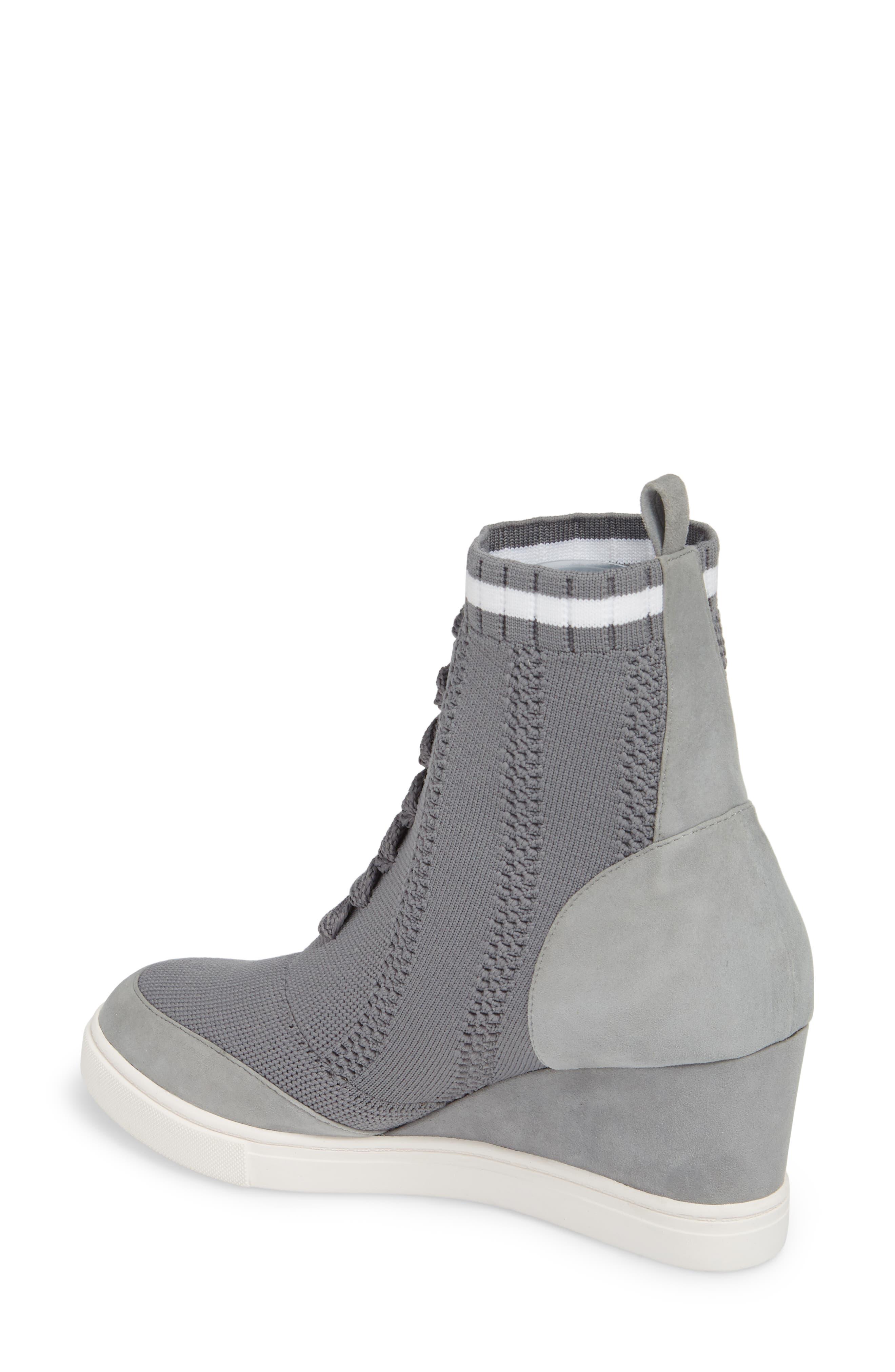 aaae151dead Grey Wedge Sneakers for Women
