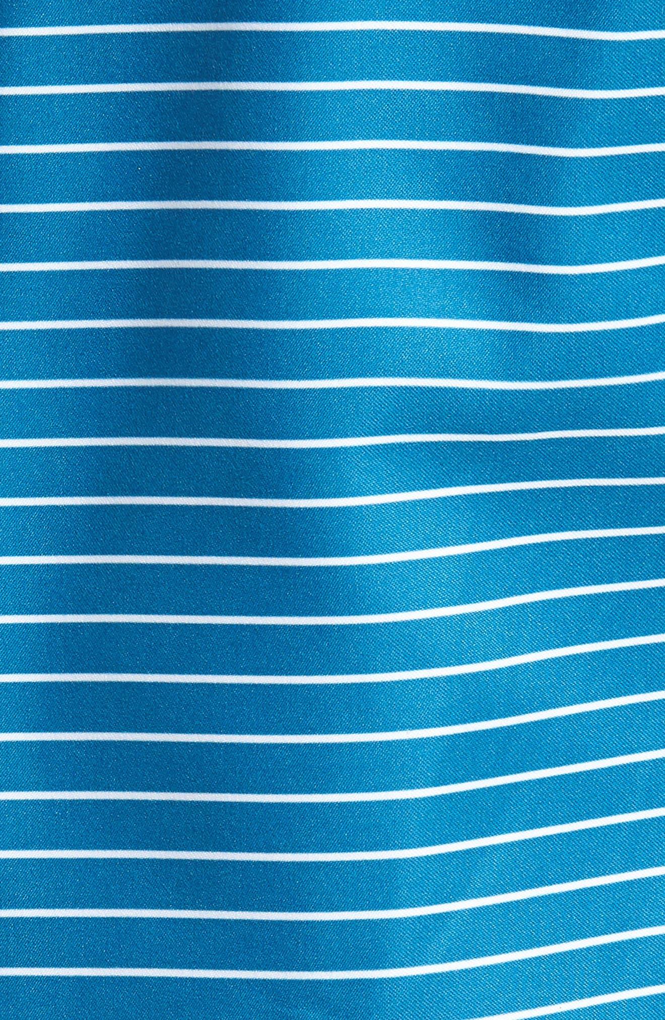 Boost Swim Trunks,                             Alternate thumbnail 5, color,                             Teal