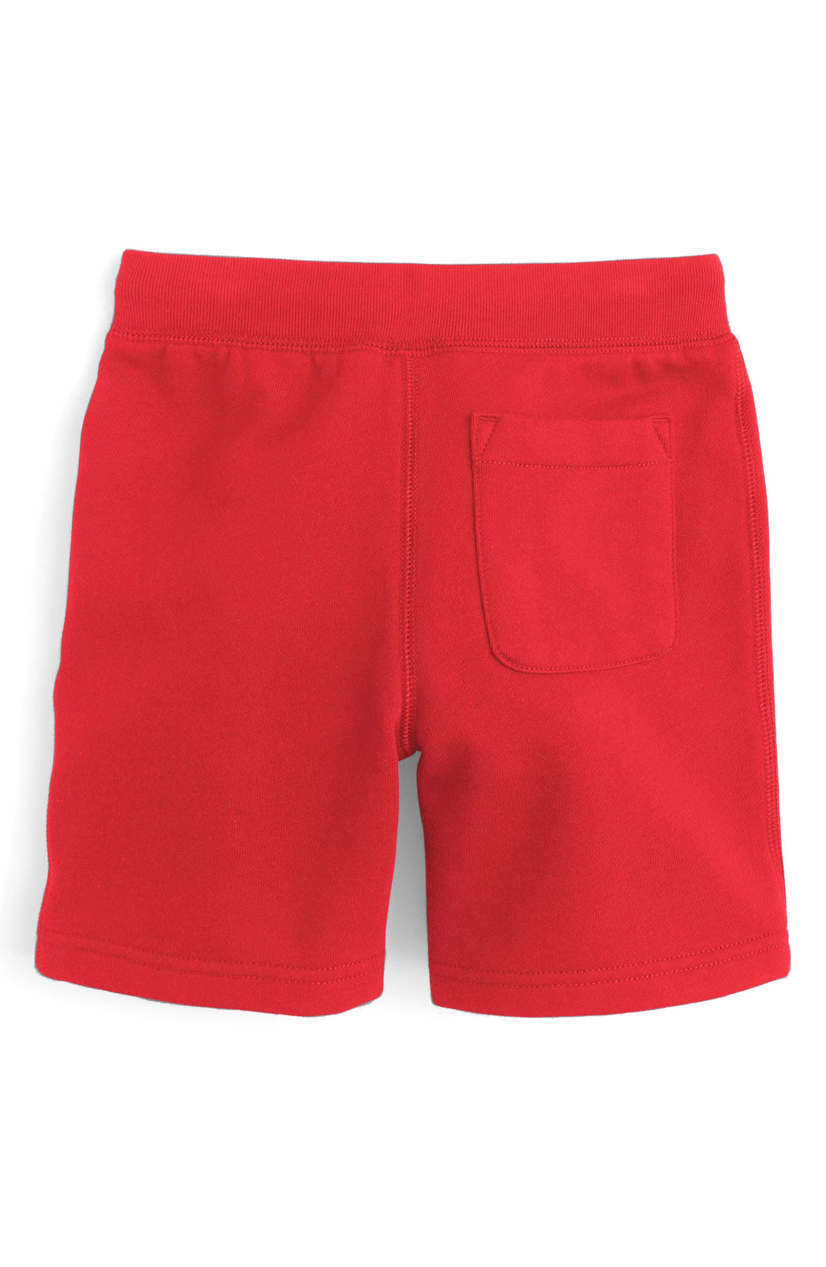 Classic Sweat Shorts,                             Alternate thumbnail 2, color,                             Milan Red