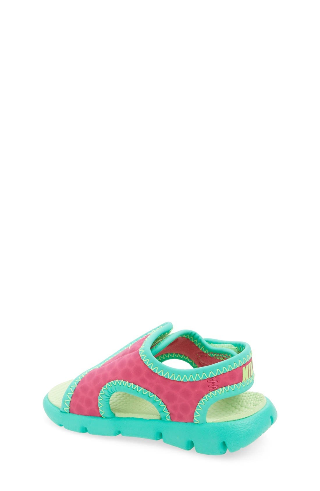 Alternate Image 2  - Nike 'Sunray Adjust 4' Sandal (Baby, Walker & Toddler)