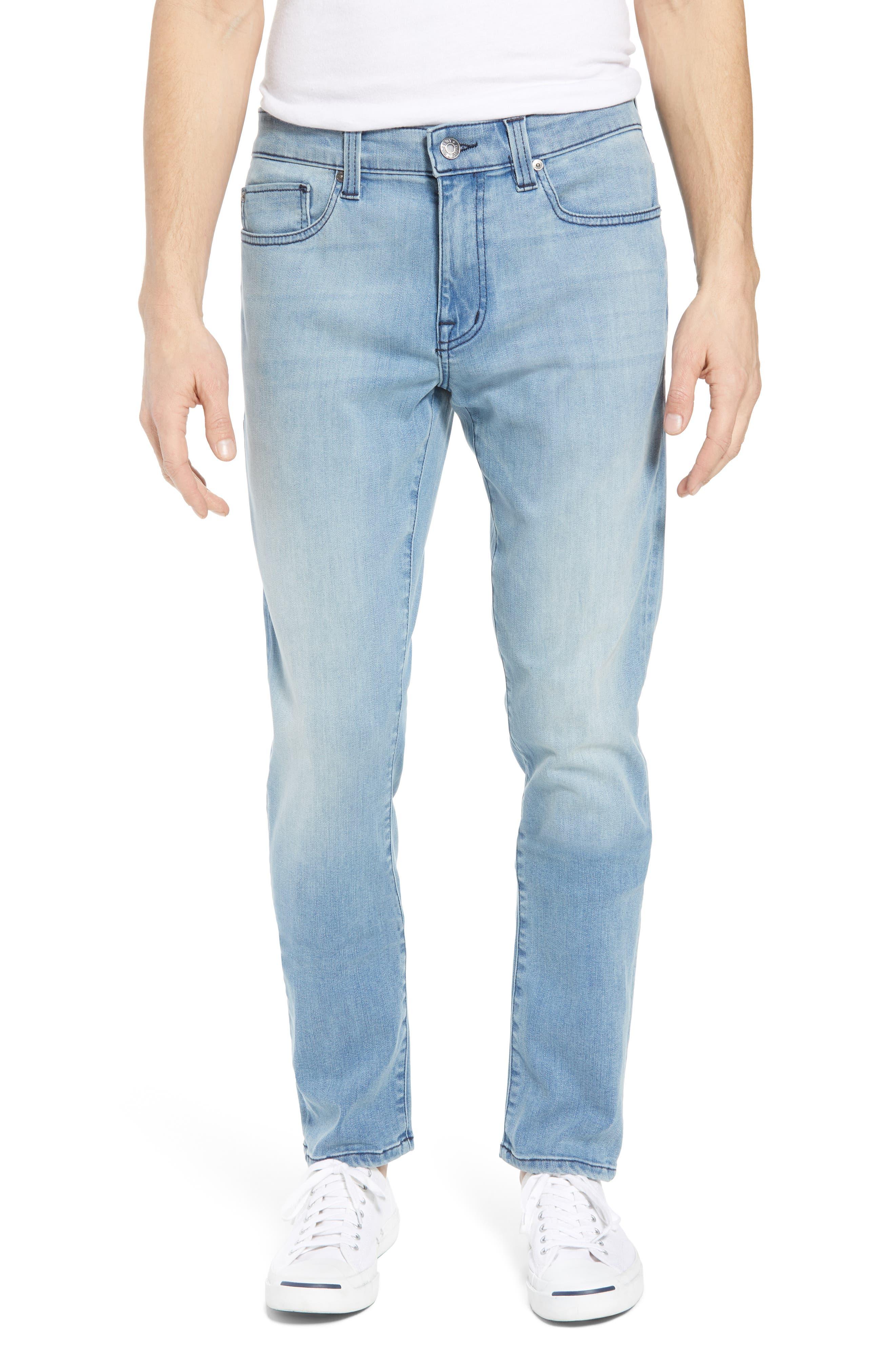 Torino Slim Fit Jeans,                             Main thumbnail 1, color,                             Abbey Blue