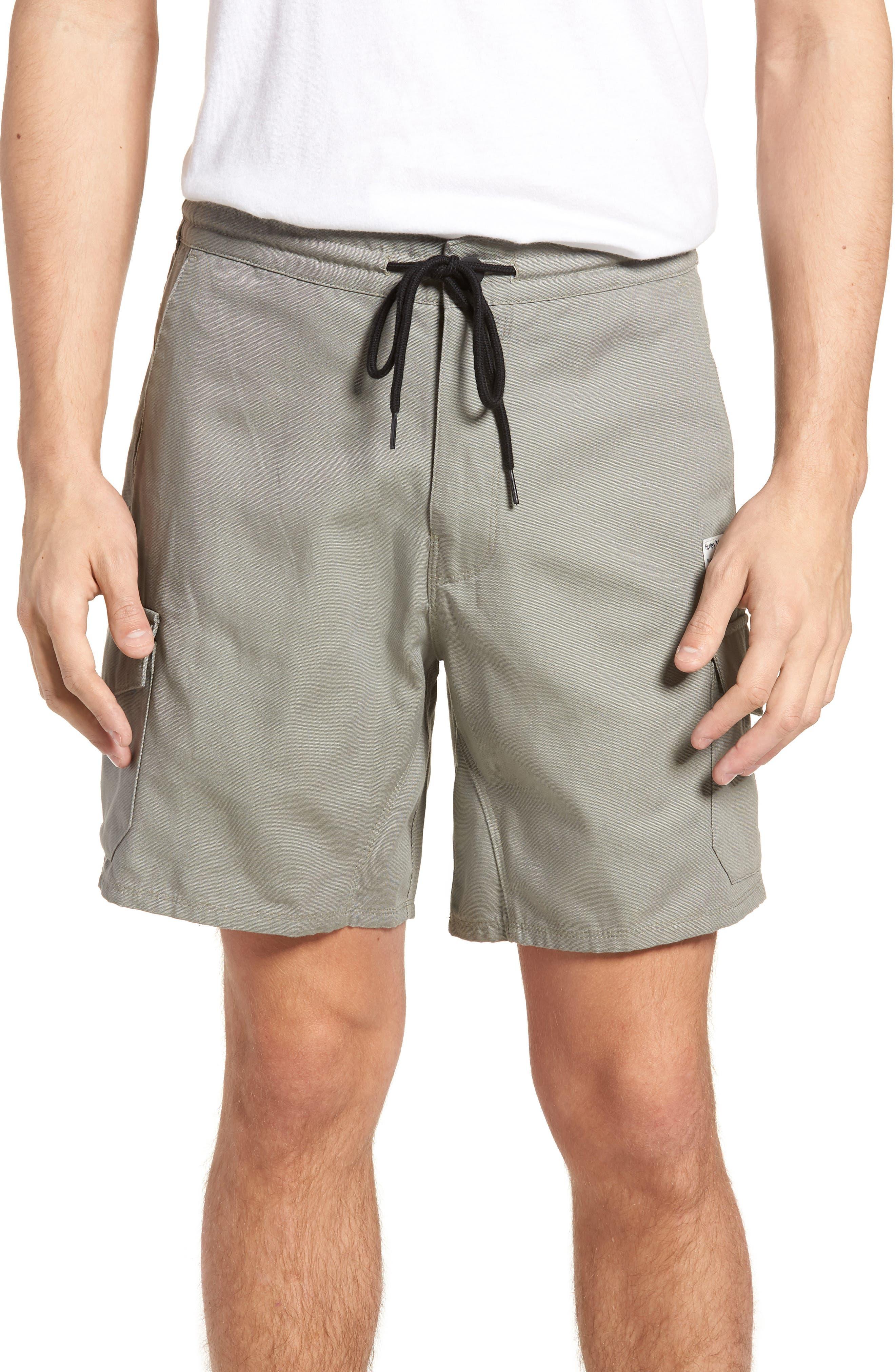 Marsh Cargo Shorts,                         Main,                         color, Dark Stucco
