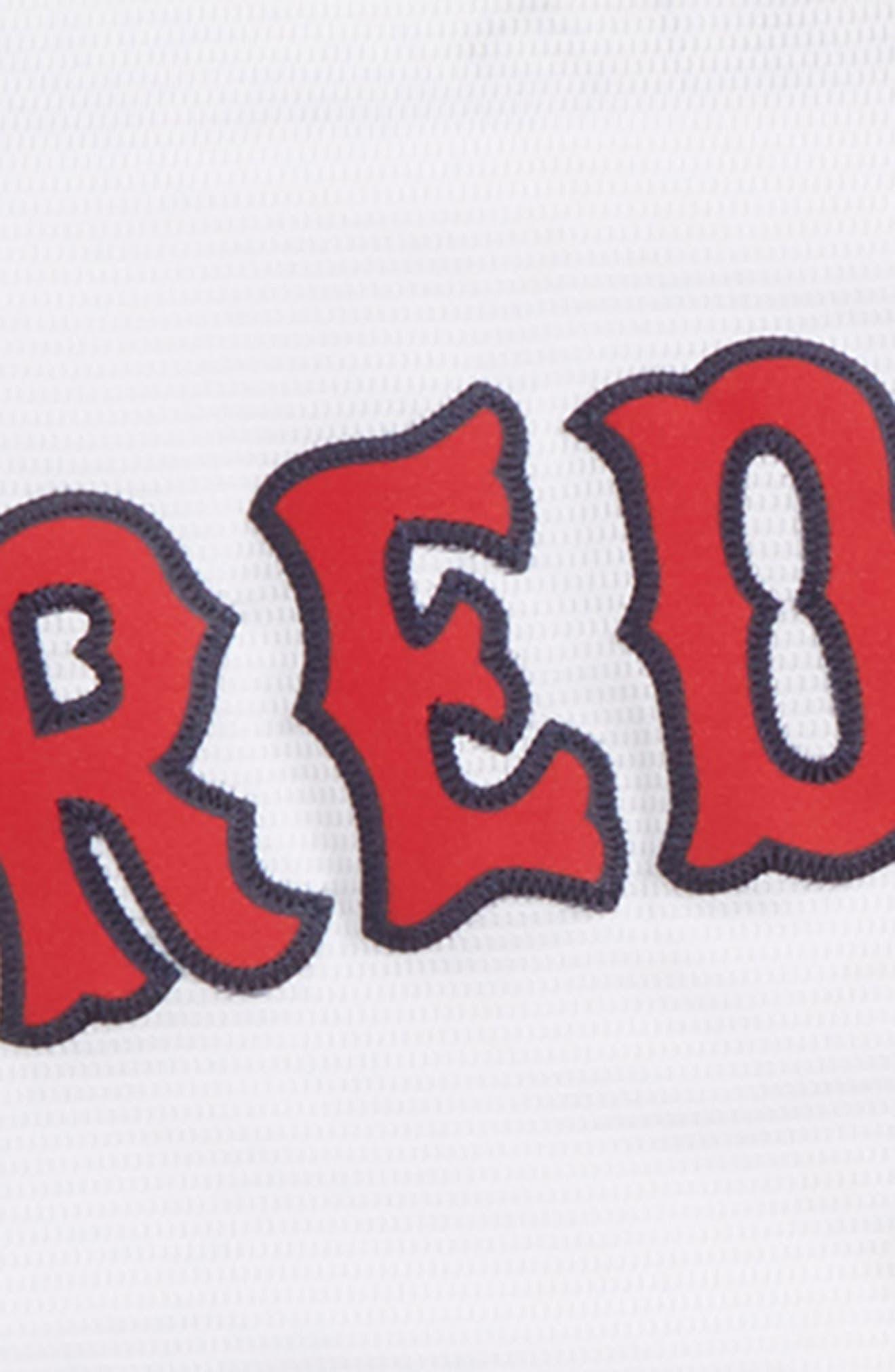 Boston Red Sox - Dustin Pedroia Baseball Jersey,                             Alternate thumbnail 3, color,                             White
