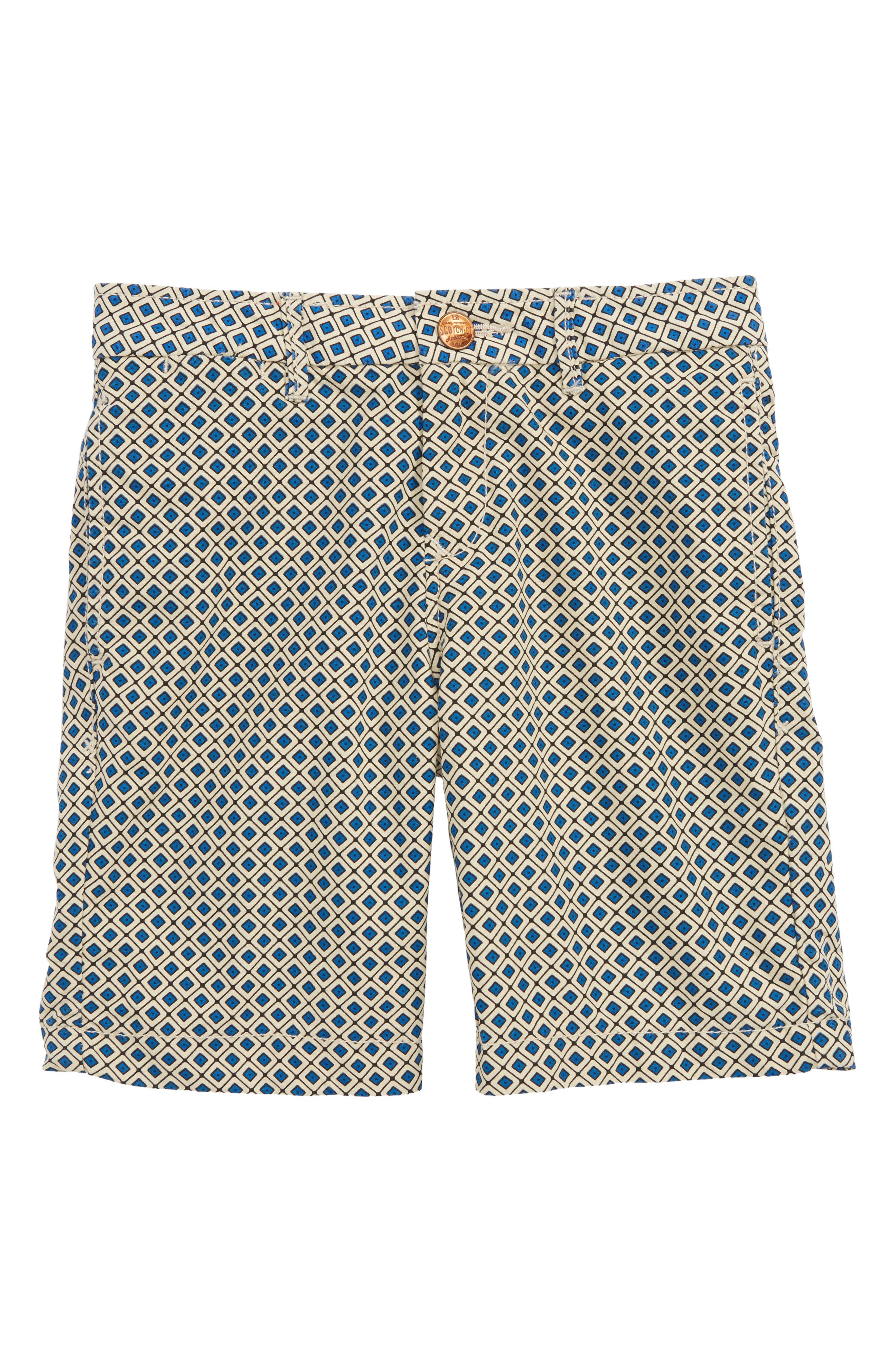 Poplin Shorts,                             Main thumbnail 1, color,                             Combo Stripes