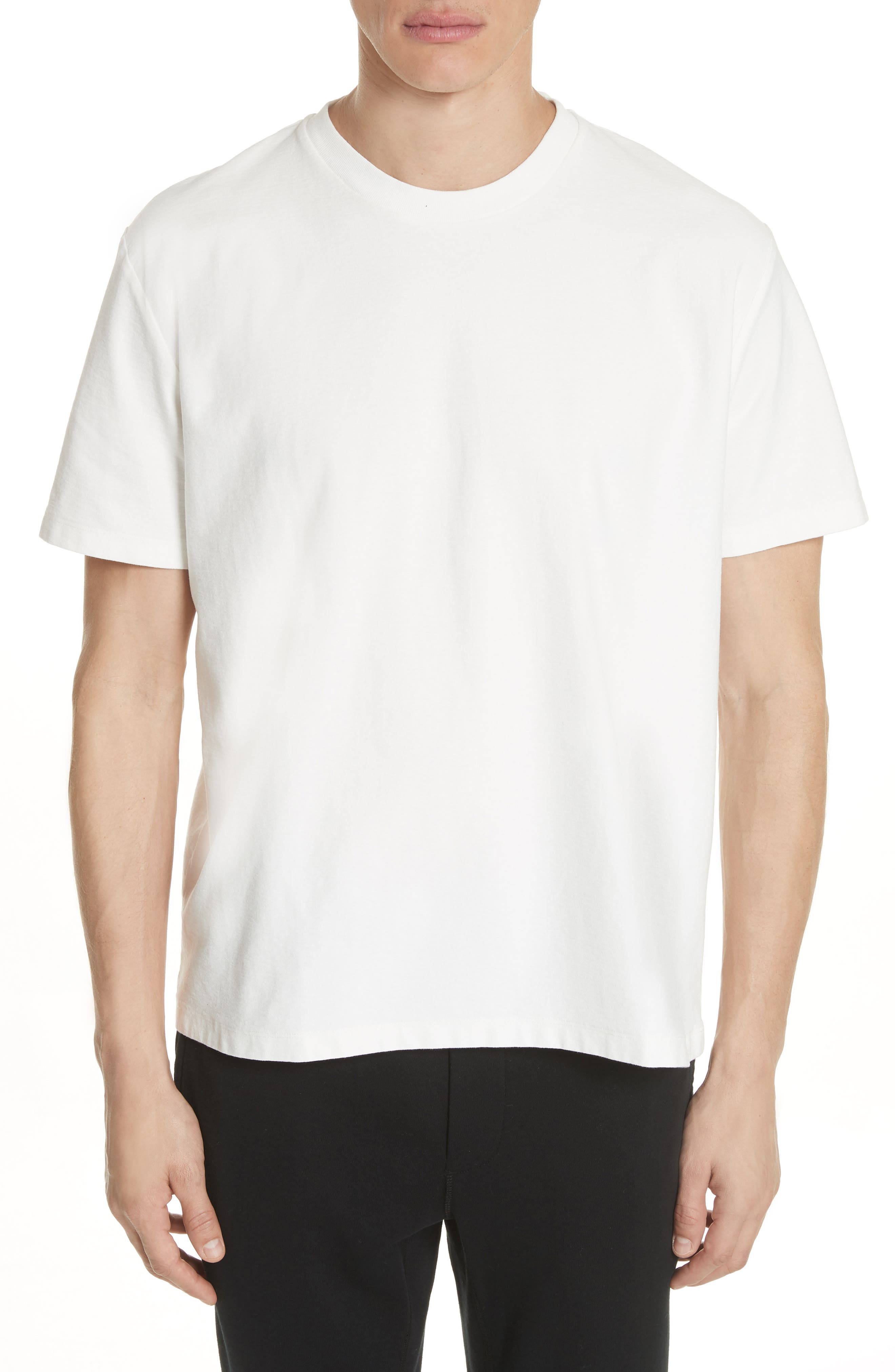 Python Embroidered T-Shirt,                             Main thumbnail 1, color,                             White