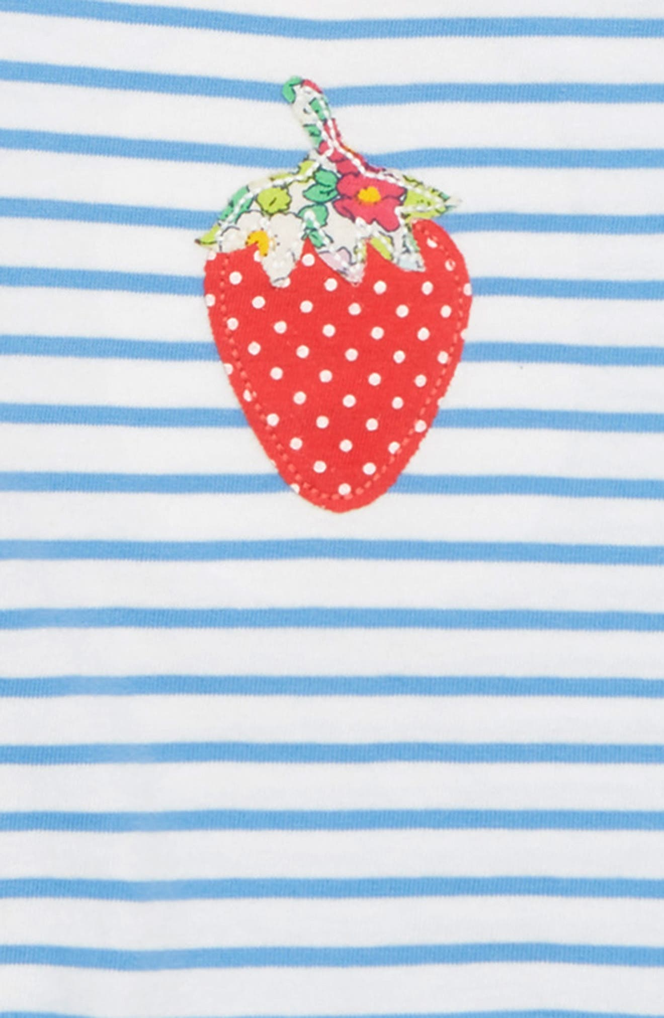 Summer 2-Pack Rompers,                             Alternate thumbnail 2, color,                             Rosehip/ Red Strawberry