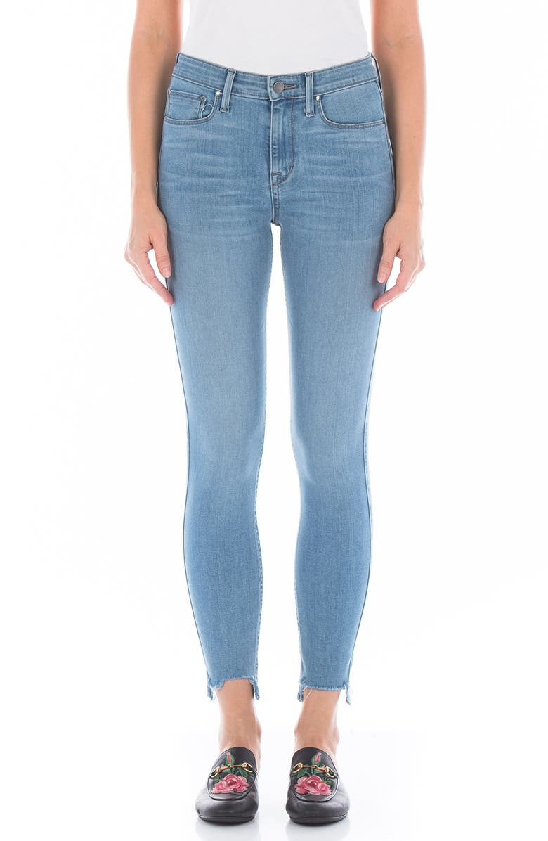 Gwen High Waist Crop Skinny Jeans