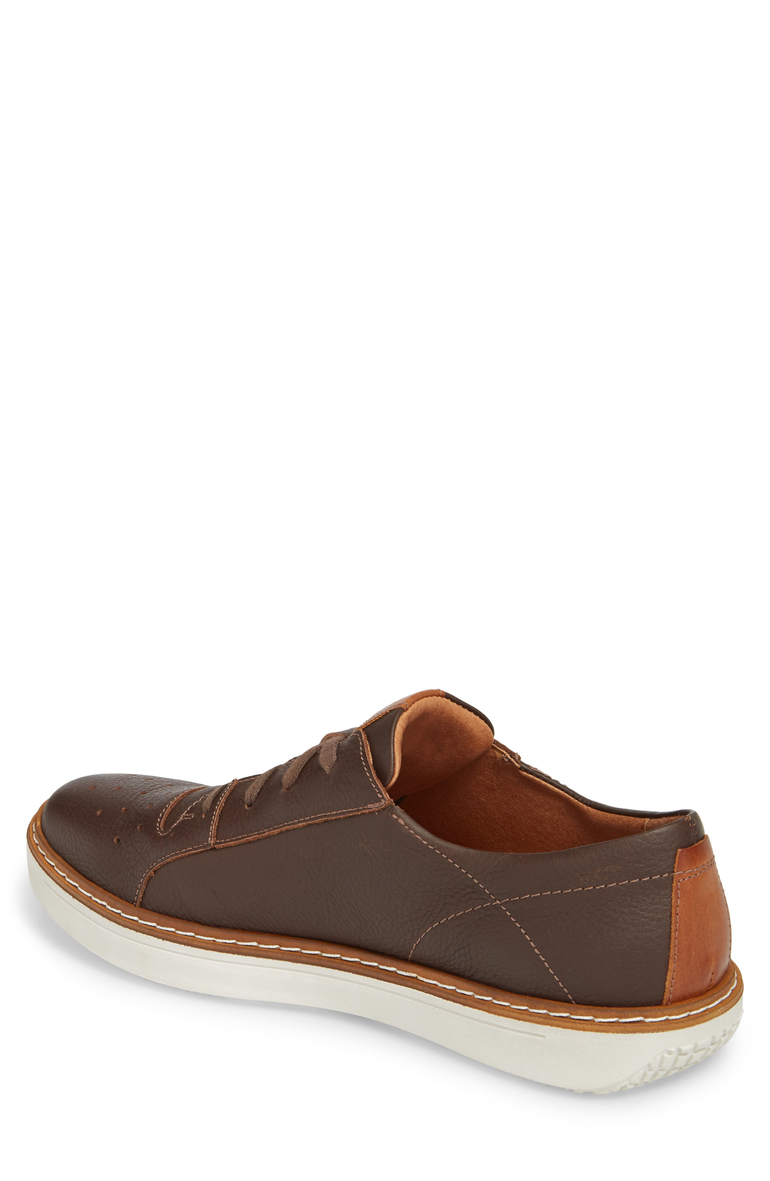 Quentin 03 Low Top Sneaker,                             Alternate thumbnail 2, color,                             Brown Kombi Leather